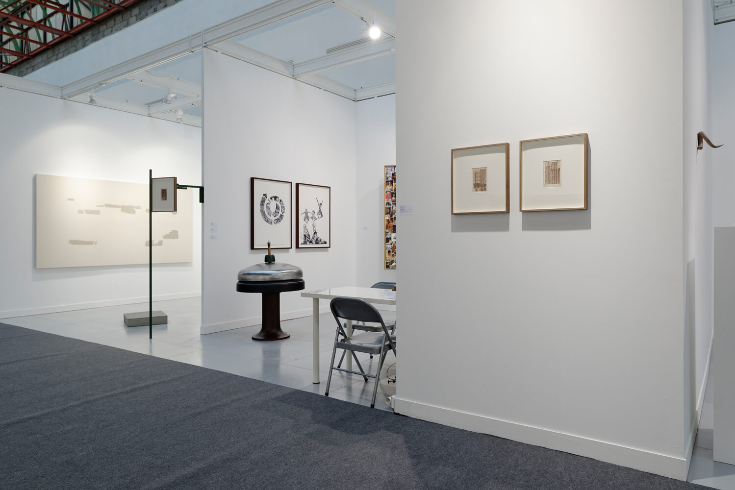 Installation view: ProjecteSD, Booth H7 | FIAC 2015 | ProjecteSD