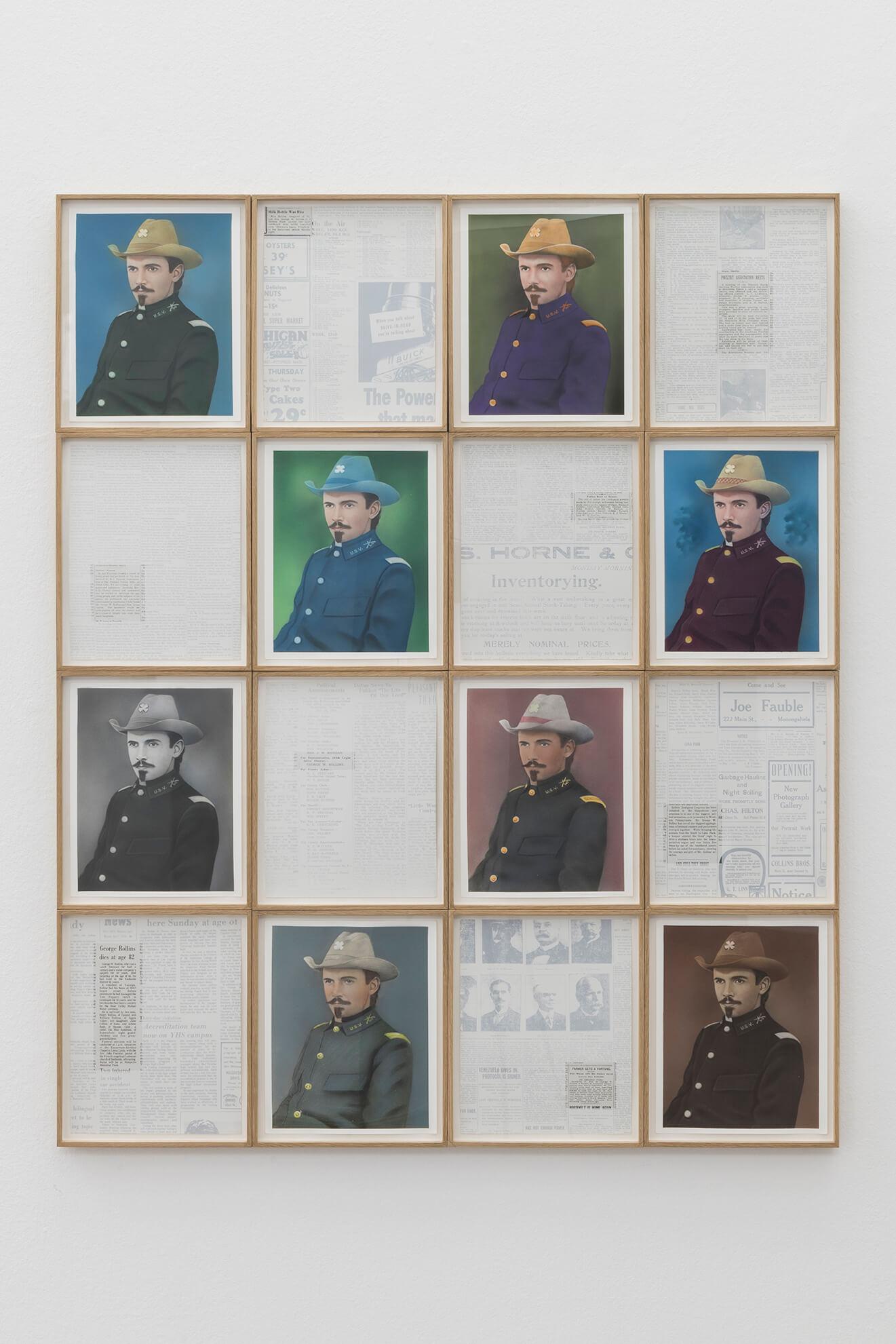 IÑAKI BONILLAS.George W. Rollins, 2015 | Lara Fluxà: Delu / Accrochage #5: Set Petites Històries | ProjecteSD