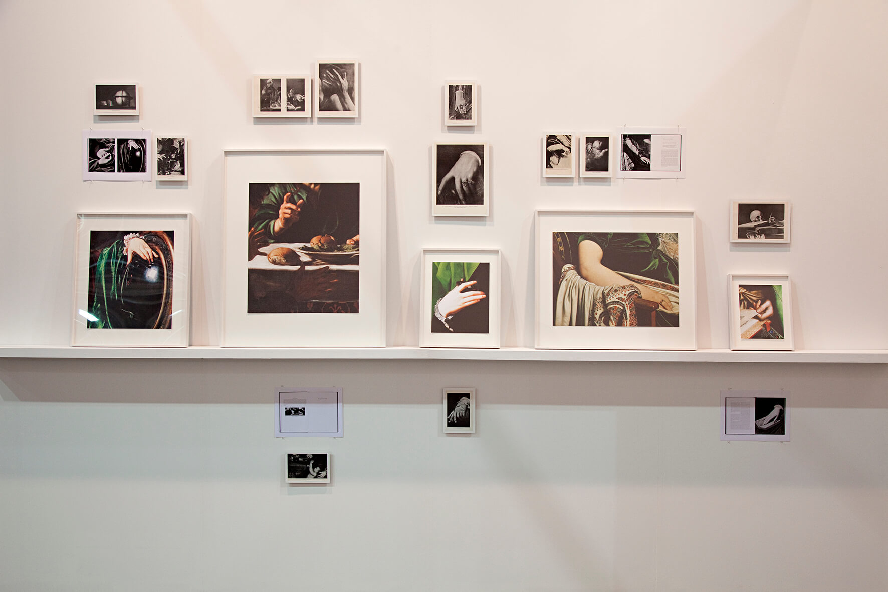 Installation view: ProjecteSD. Hall Violet Nº3 / Hall Green Nº4 | ARTISSIMA 2014 | ProjecteSD