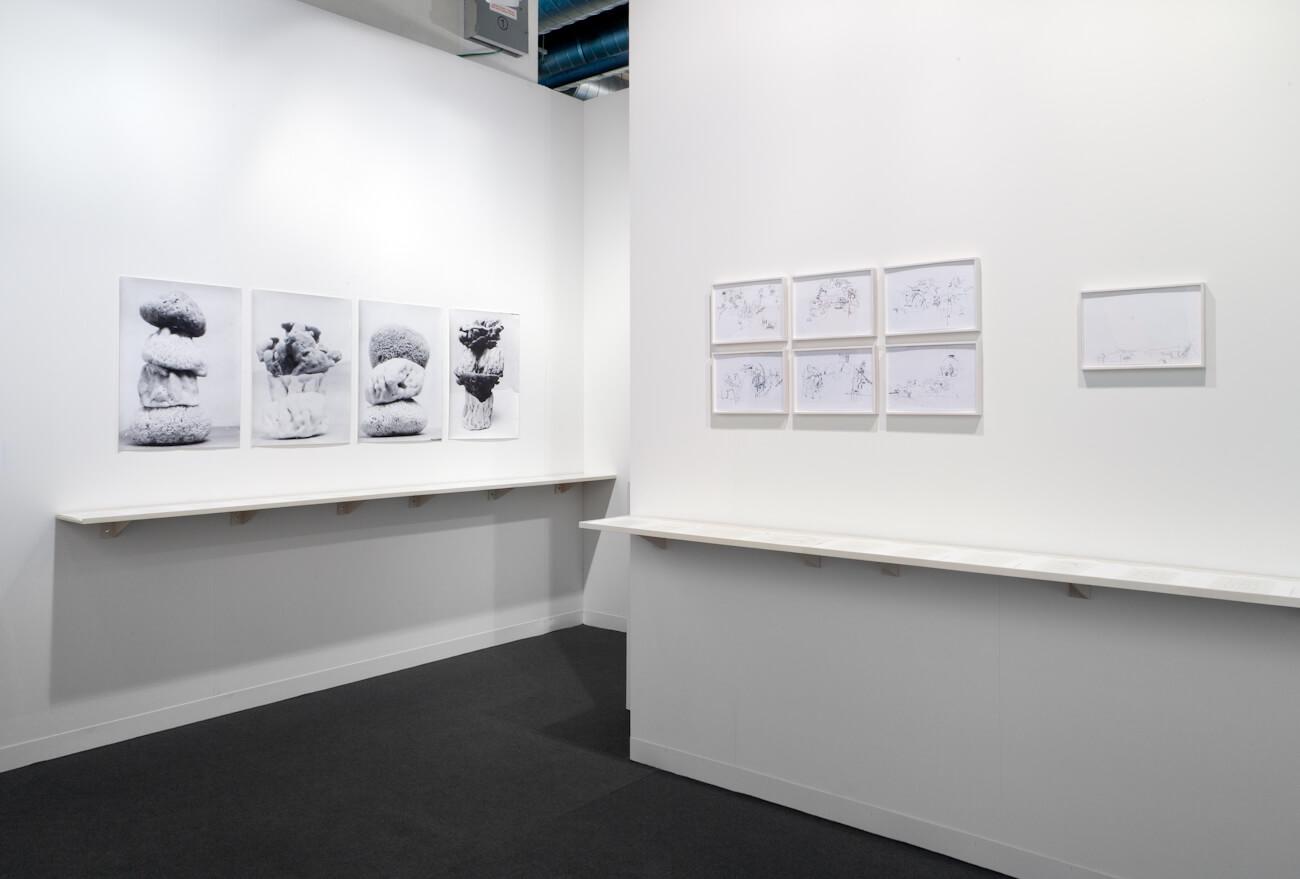 Installation view: ProjecteSD, Booth J4 | ART BASEL 2014 | ProjecteSD