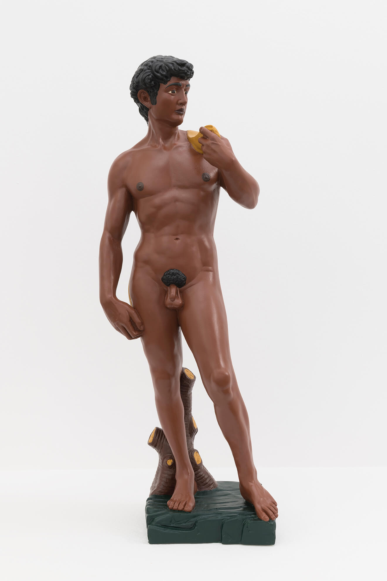 HANS-PETER FELDMANN. David (black), 2008 | El Museu Imaginari / El Museo Imaginario / The Imaginary Museum | ProjecteSD