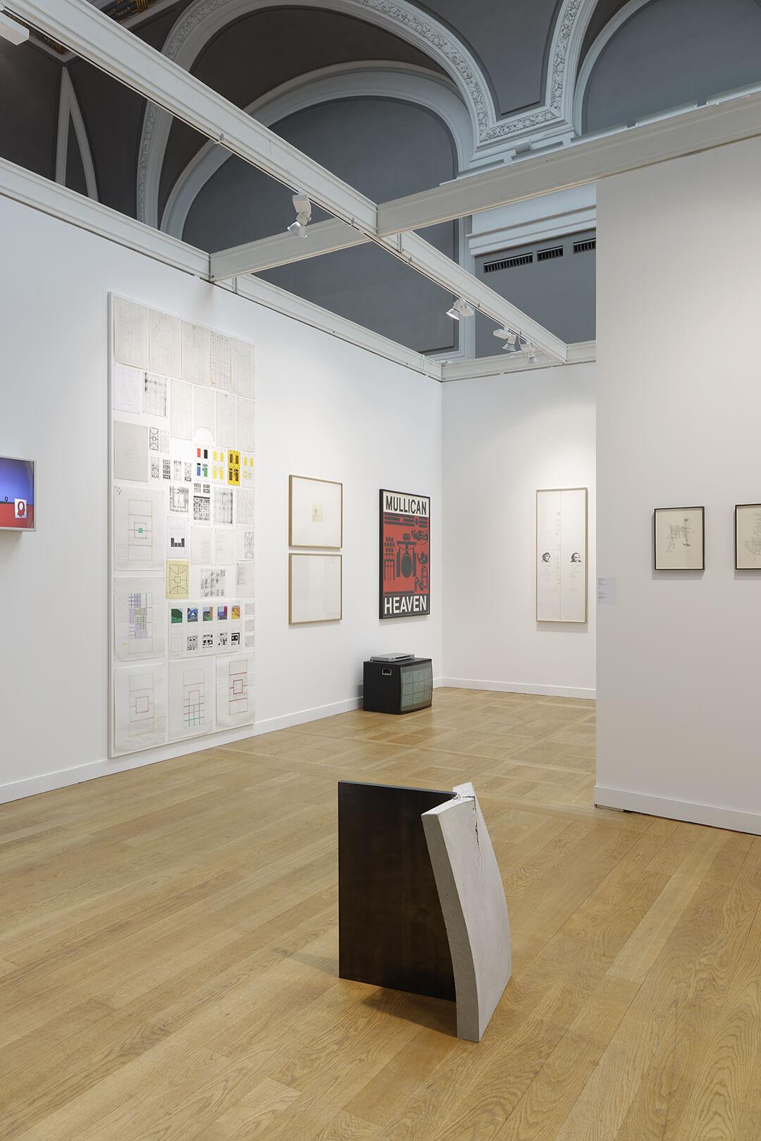Installation view: ProjecteSD, Booth 1J11 | FIAC 2017 | ProjecteSD