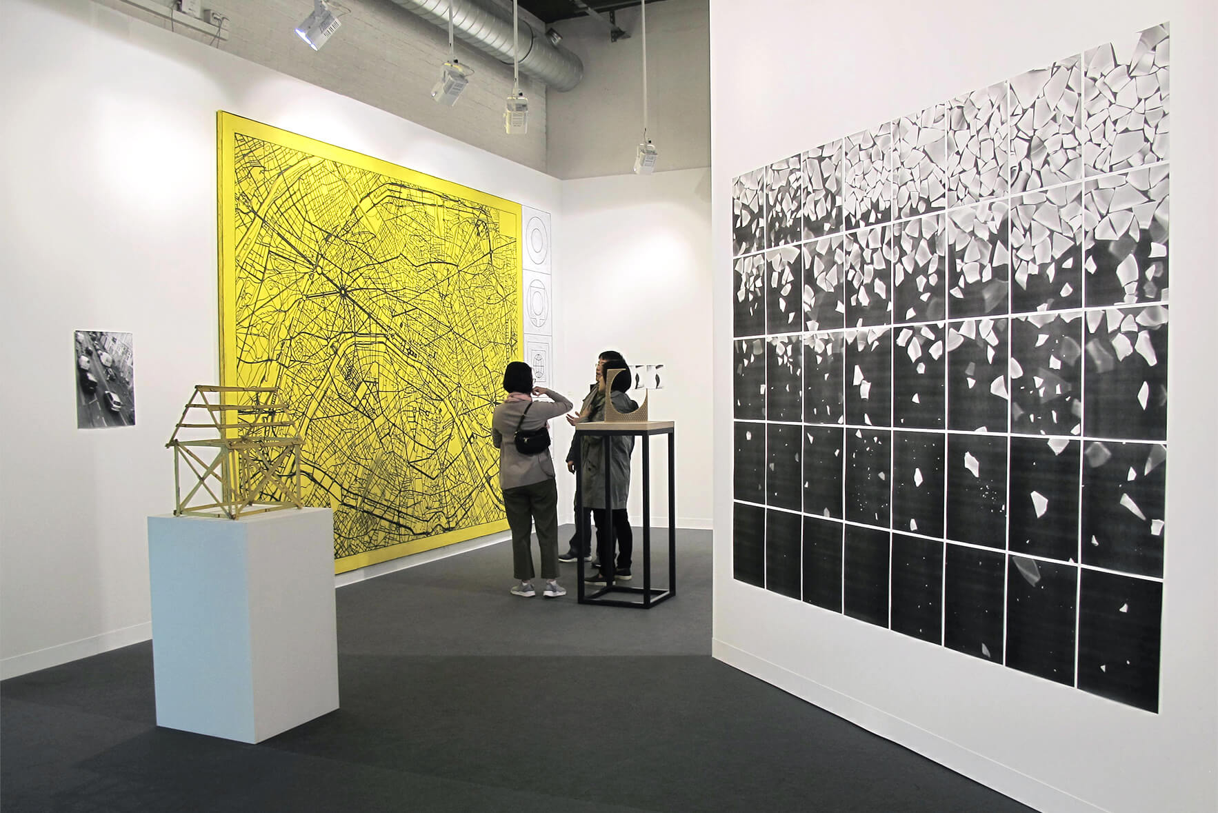 Installation view: ProjecteSD, Booth L4 | ART BASEL 2016 | ProjecteSD