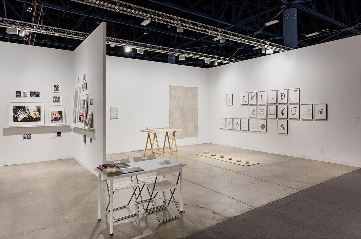 Installation view: ProjecteSD, Booth C25 | ART BASEL MIAMI BEACH 2016 | ProjecteSD