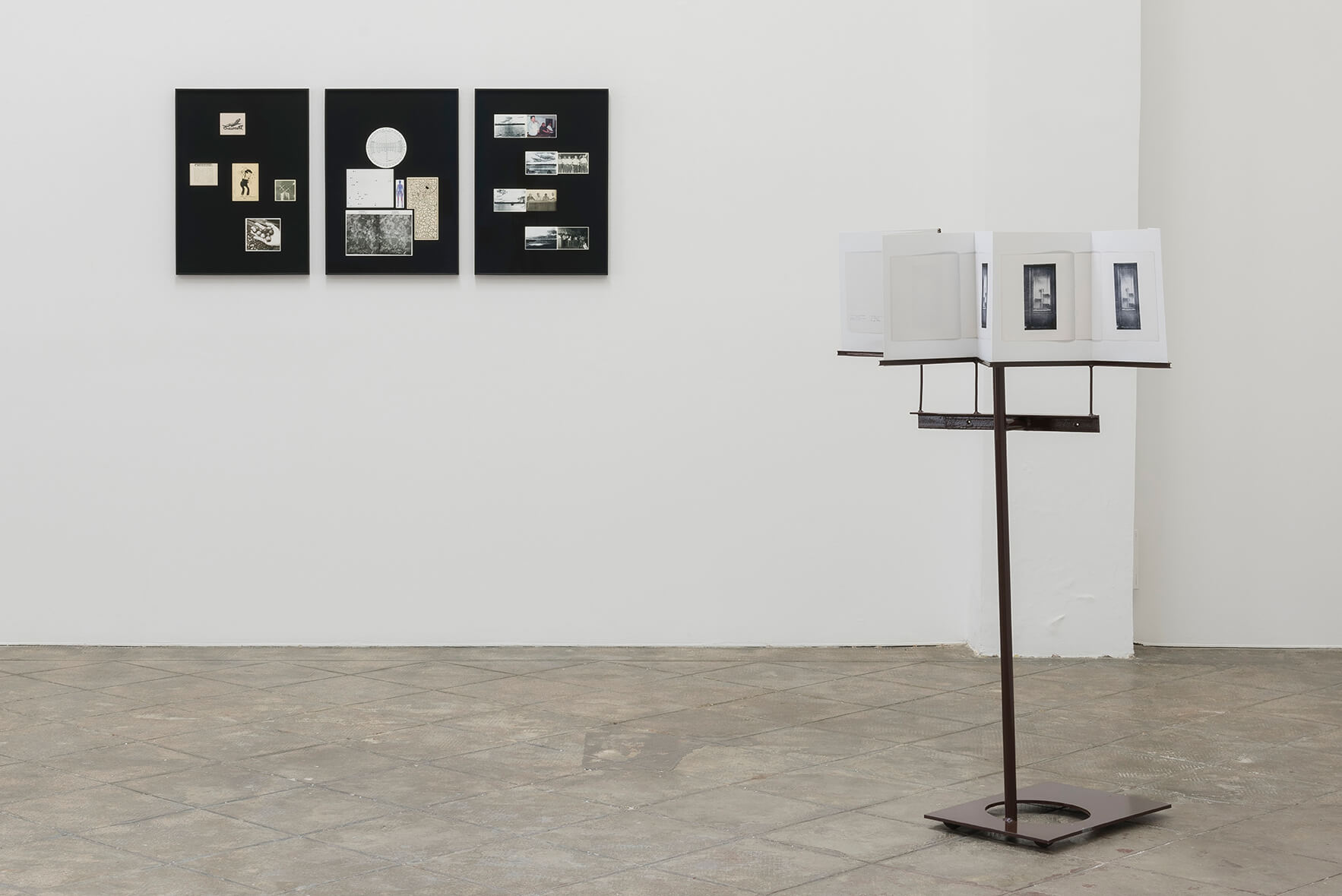 Installation view: Accrochage #3: Footnote Nº 10, ProjecteSD | Accrochage #3: Footnote nº 10 | ProjecteSD