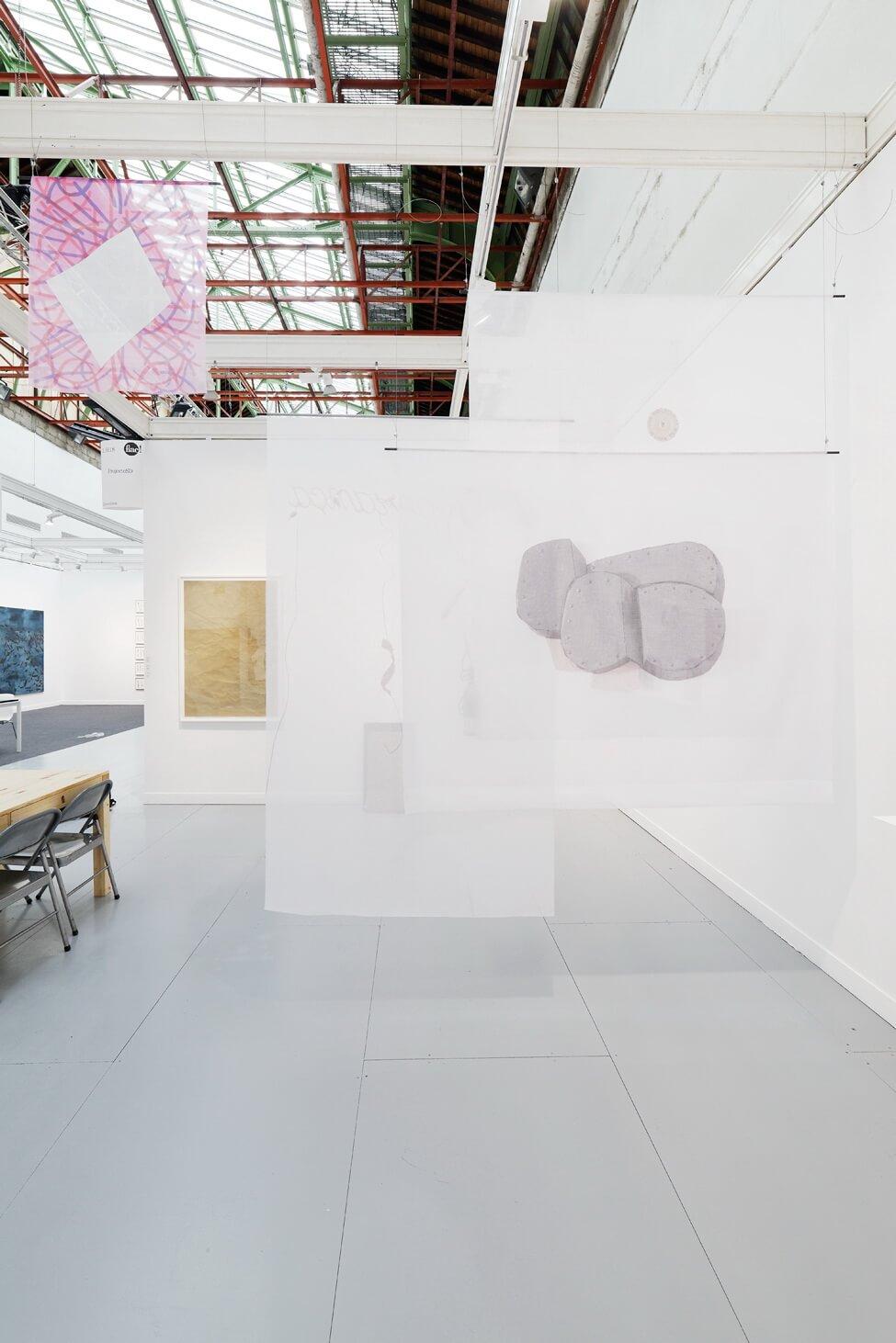 Installation view: ProjecteSD, Booth 1H18 | FIAC 2016 | ProjecteSD