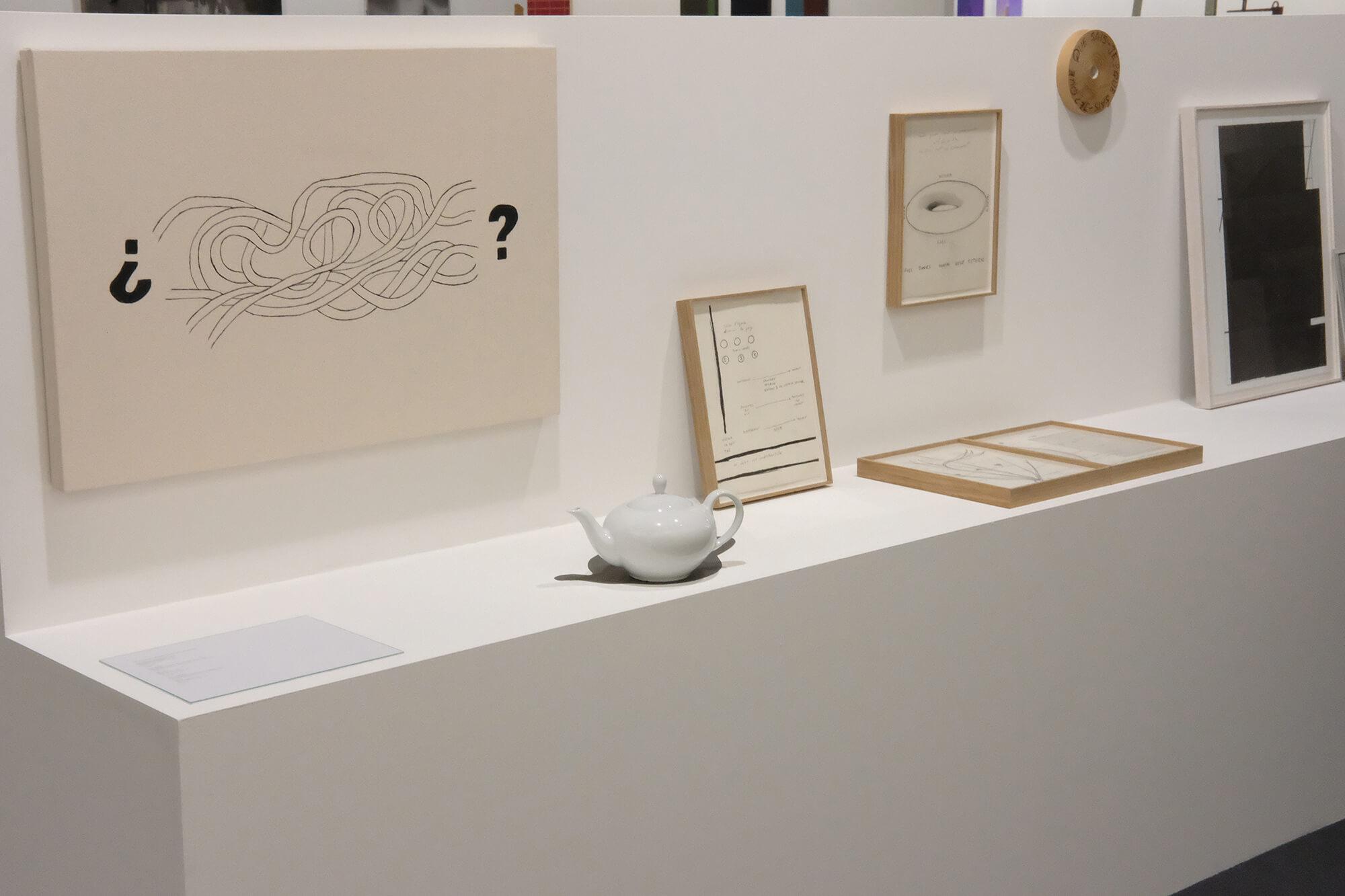 Installation view: ProjecteSD, Booth L4   ART BASEL 2018   ProjecteSD
