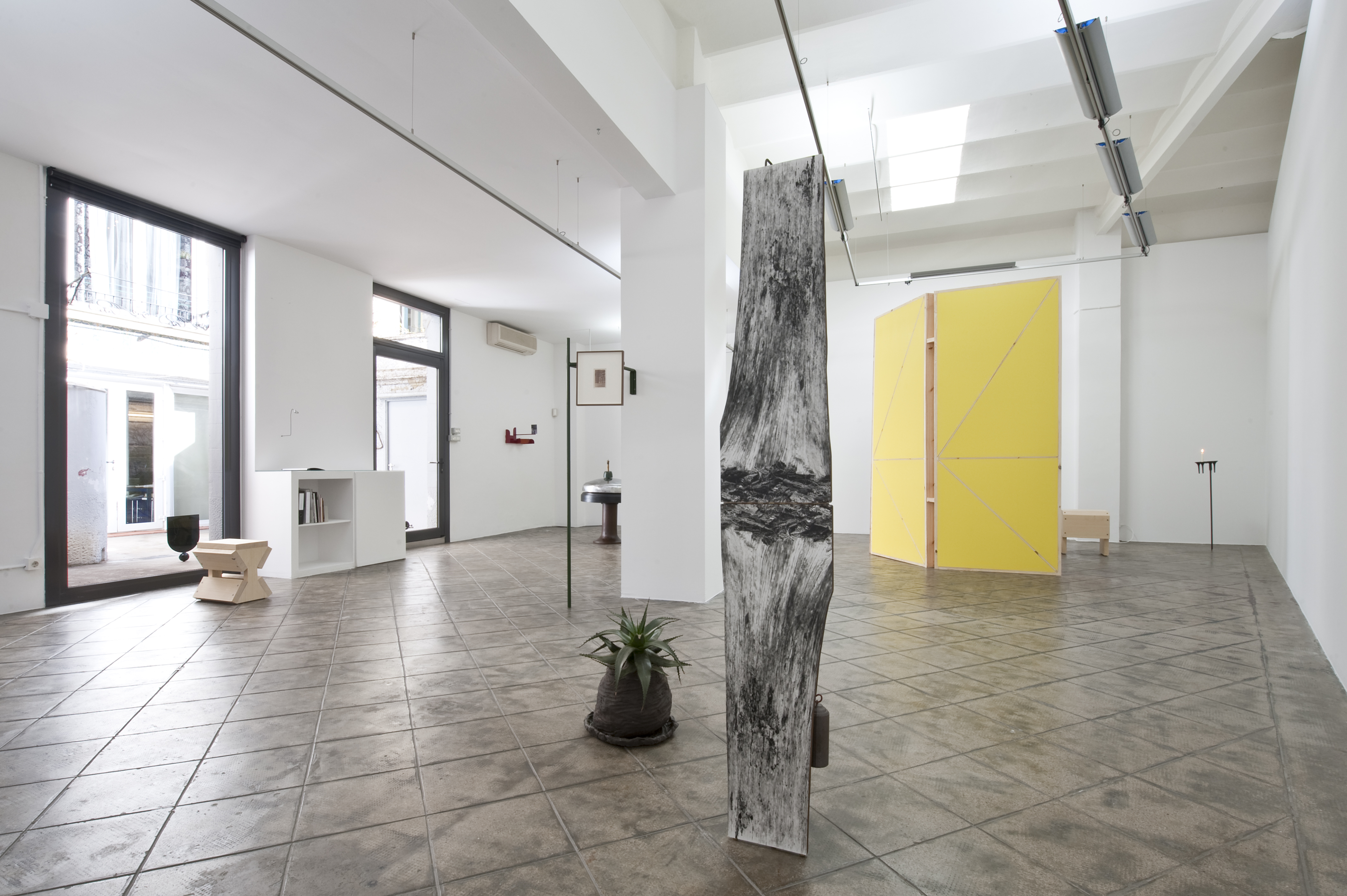 Installation view: There Is No Real Life, Only the Story of the Life We Are Currently Living,ProjecteSD, Barcelona, 2015 |  | ProjecteSD