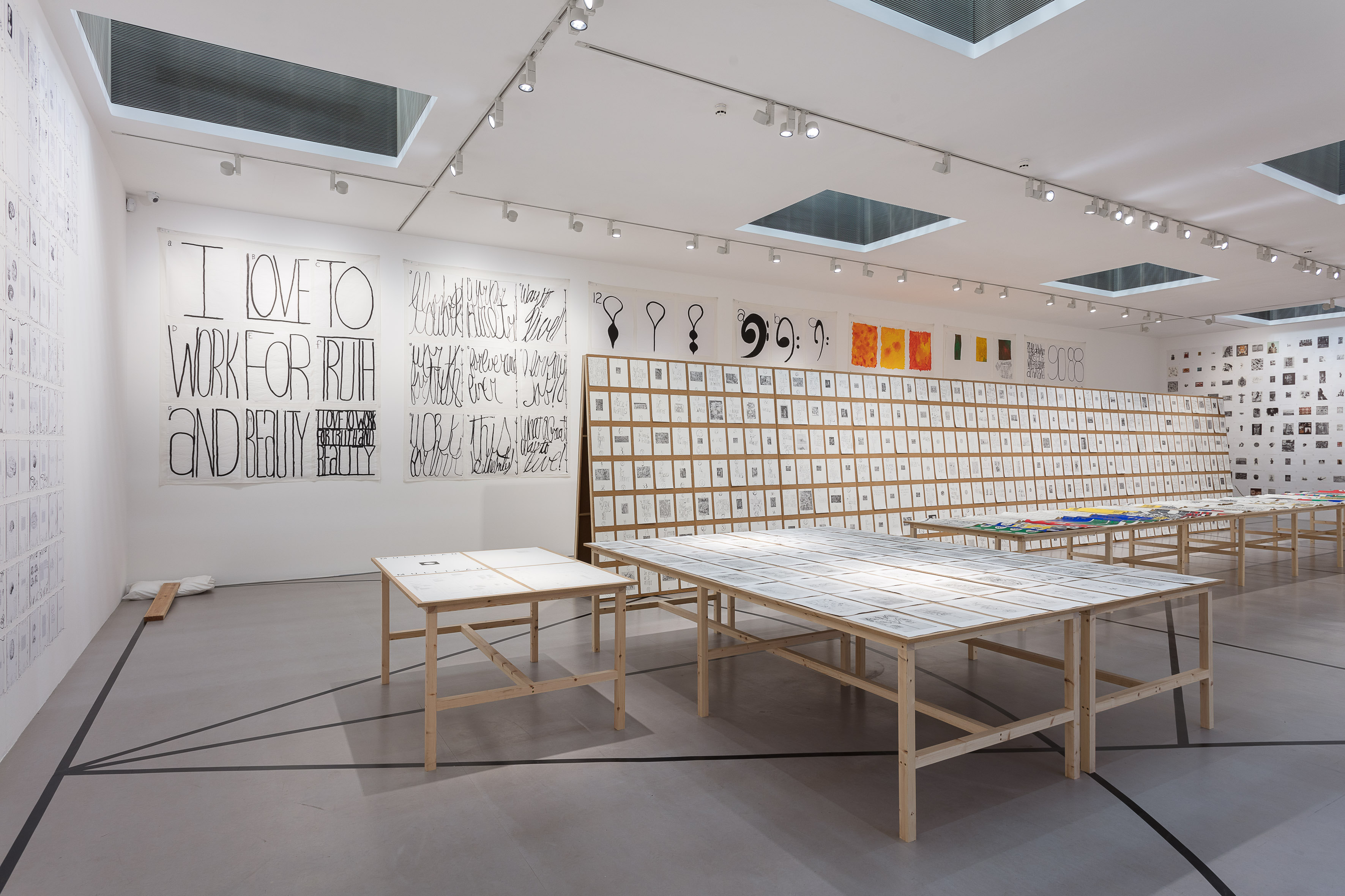Installation view: Matt Mullican. The Sequence of Things, 2016-2017, Camden Arts Centre, London |  | ProjecteSD