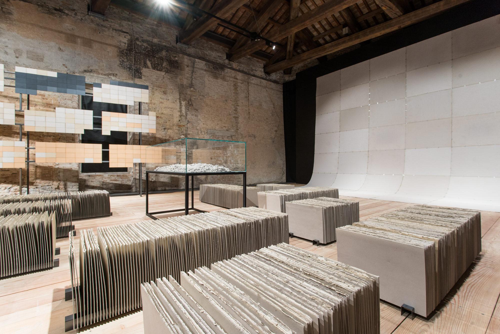 Installation view: Misplaced Ruins,Pavilion of Peru, 56th Biennale di Venezia, 2015 |  | ProjecteSD