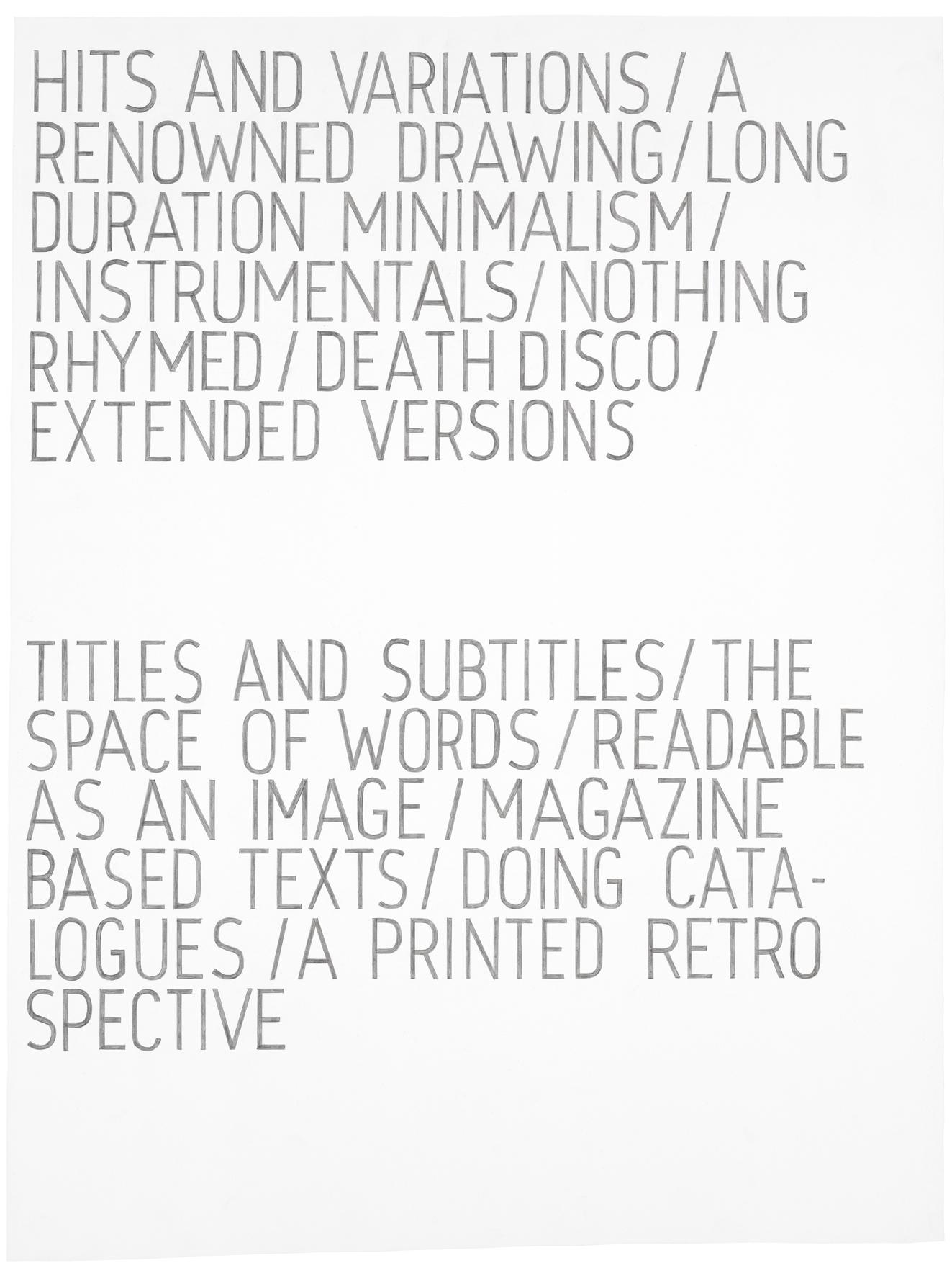 A Hint of Articulation, 2010 |  | ProjecteSD