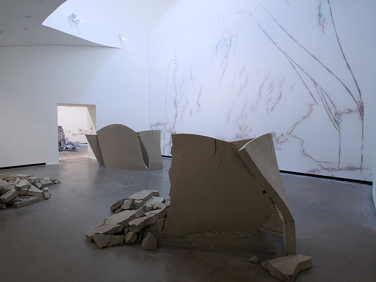 Installation view: Bizarre Spaces – Attacks, Transformations, Explosions, Marta Herford, Herford, Germany |  | ProjecteSD