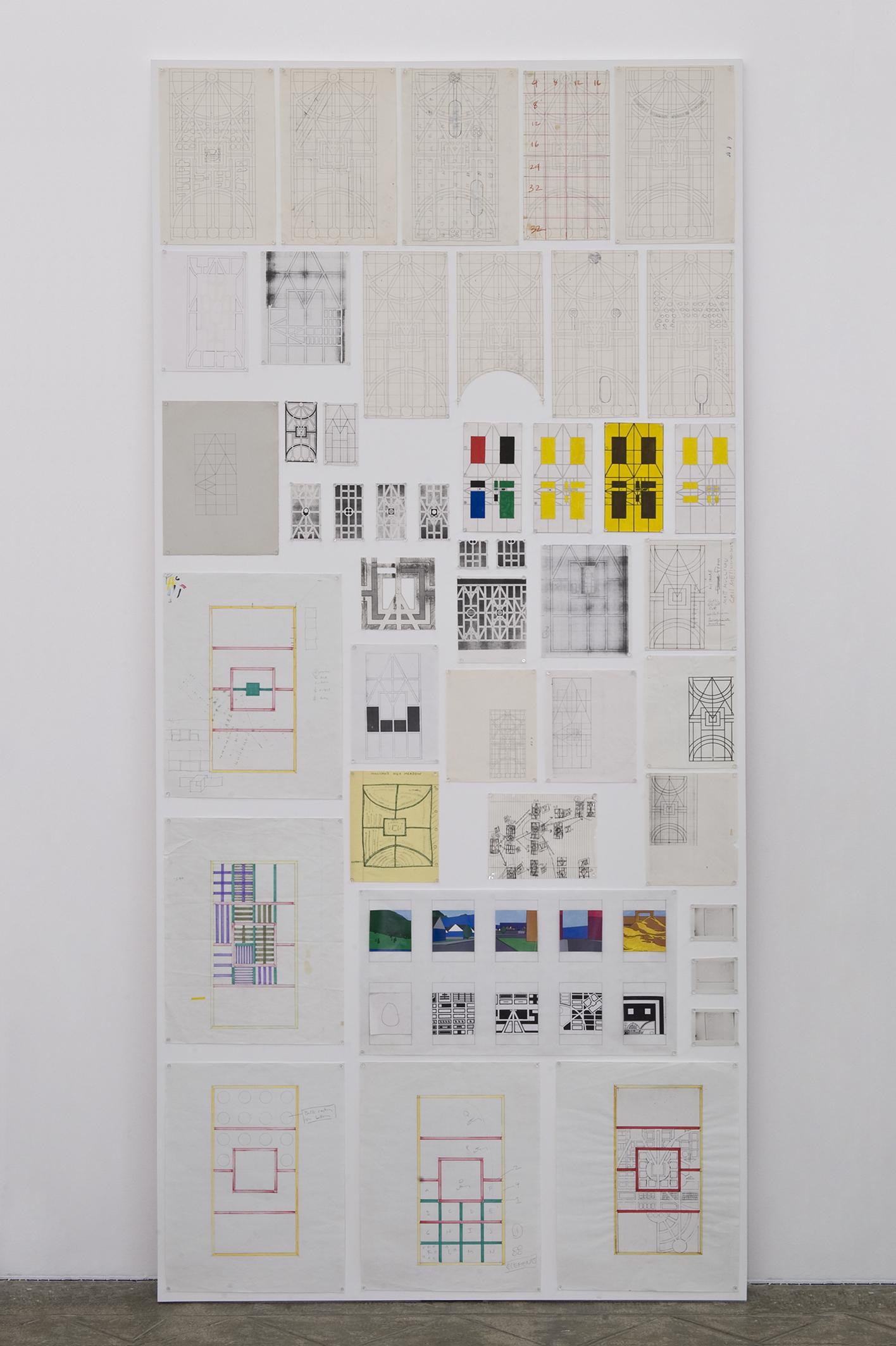 Untitled (City Charts), 1990's |  | ProjecteSD