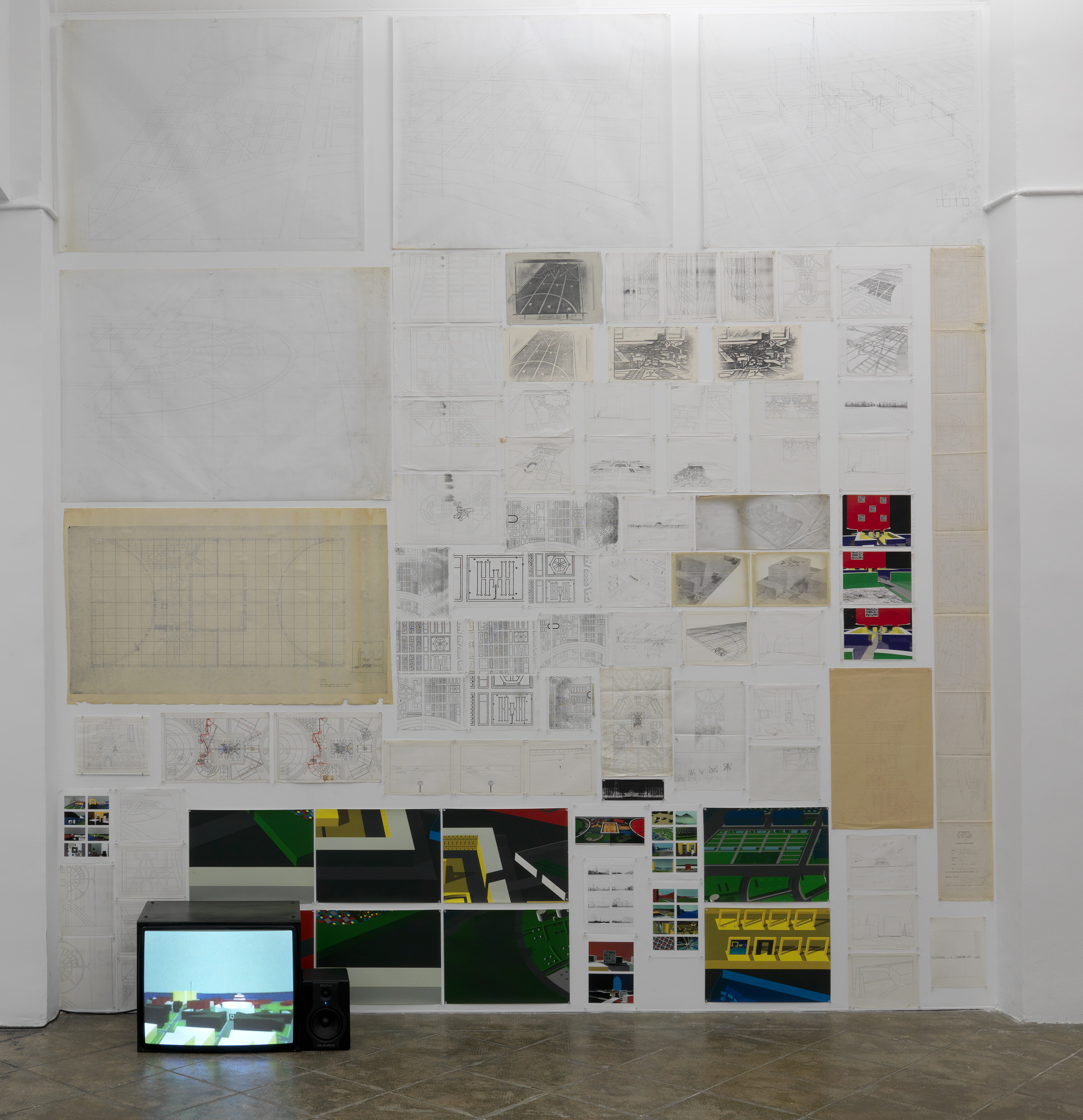 Untitled (Computer City Project and Five into One), 1986 – 1992 |  | ProjecteSD