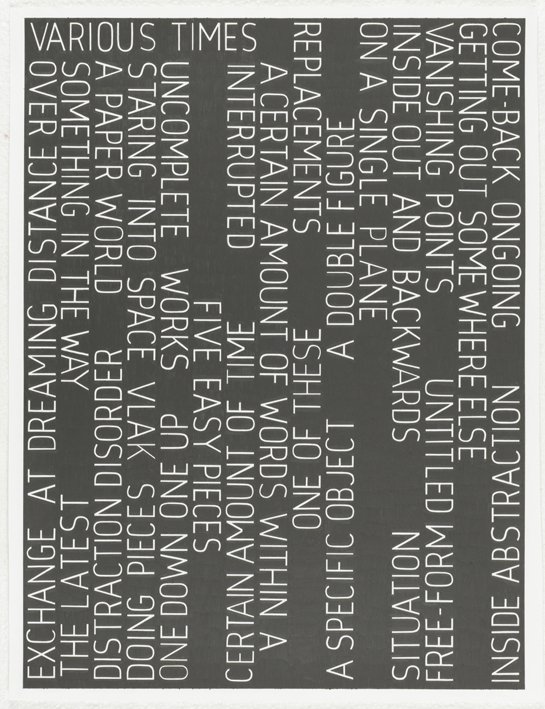 Various Times, 2008 |  | ProjecteSD
