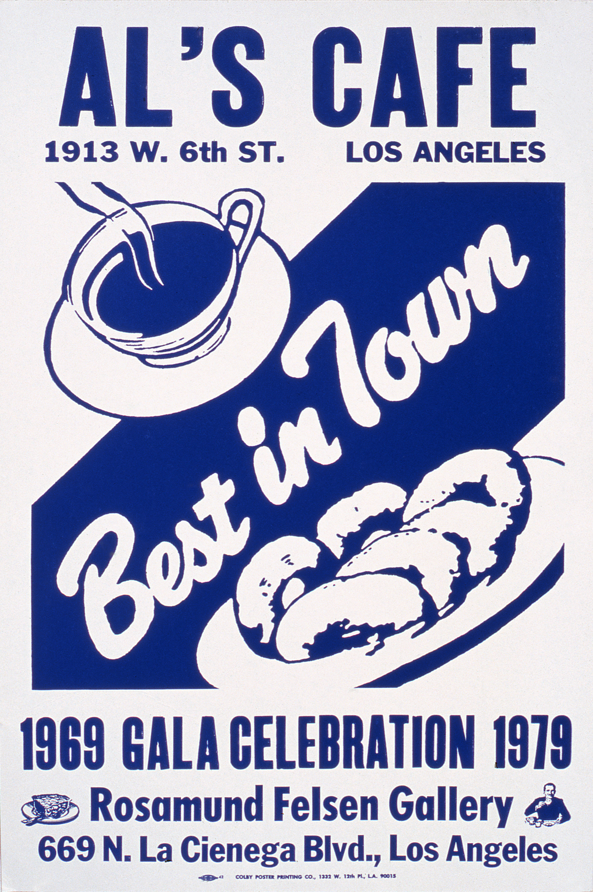 Al's Cafe – Best in Town poster, 1979 |  | ProjecteSD