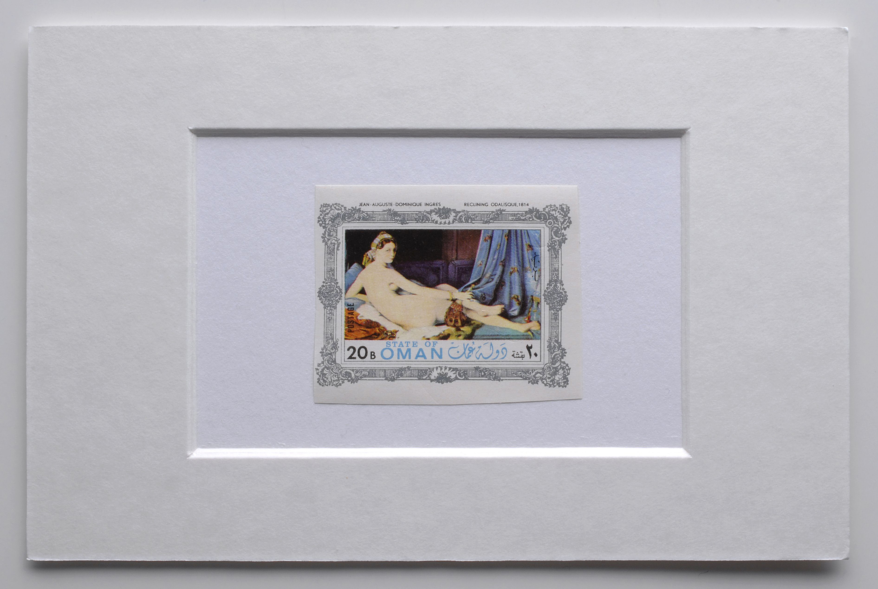 Stamps with Paintings, (2005) (detail) |  | ProjecteSD