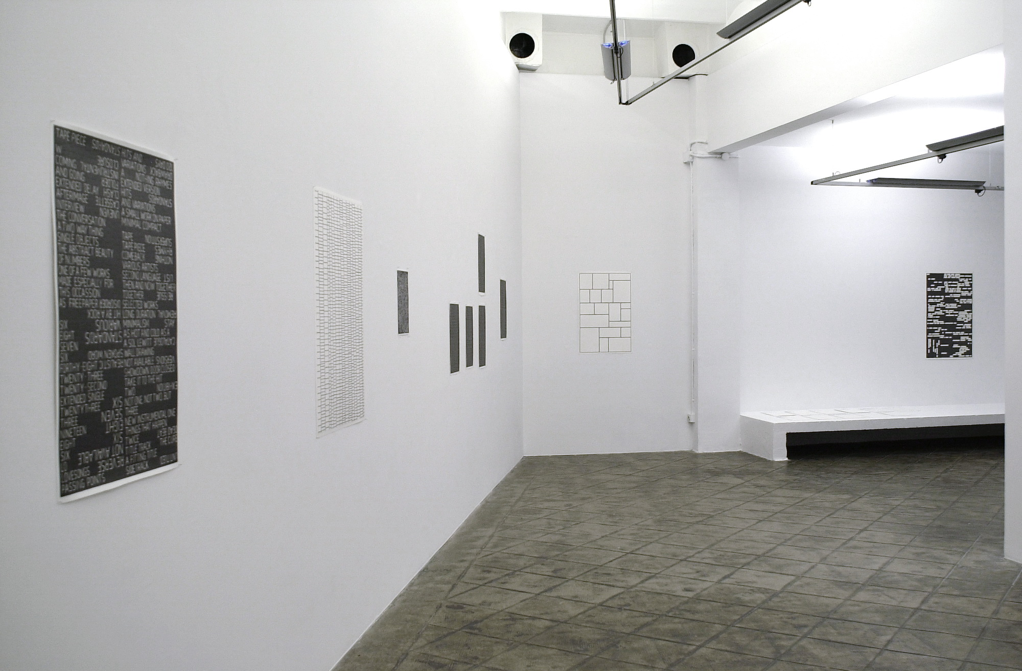 Installation view: Marc Nagtzaam: Nothing Rhymes, ProjecteSD, 2008 |  | ProjecteSD