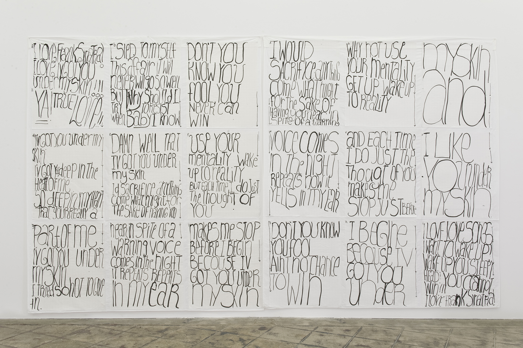 Learning From That Person's Work (Under My Skin), 2005 |  | ProjecteSD