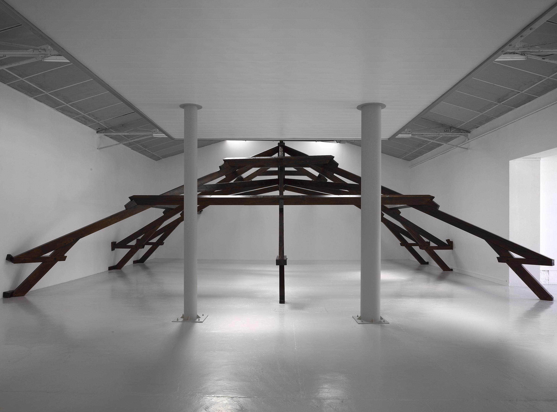Installation view: Tight, Repeating Boredom (with Rita McBride), Frac Bourgogne, Dijon, 2008 |  | ProjecteSD