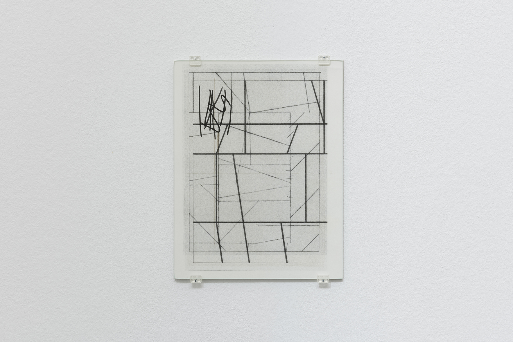 Zeichnungen 6, 2015 | A Drawing Placed Between Two Objects (with Mark Manders) | ProjecteSD
