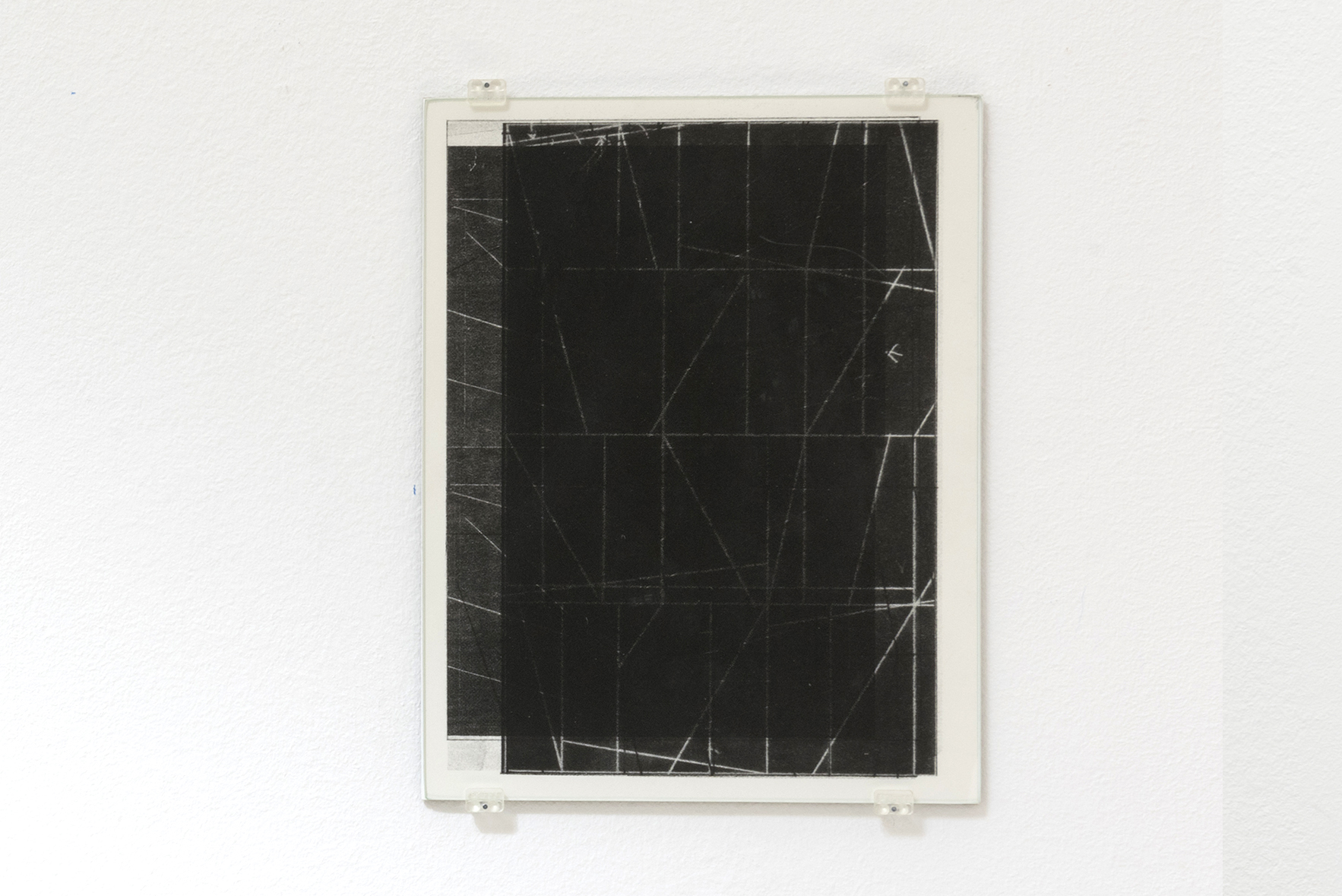 Zeichnungen 8, 2015 | A Drawing Placed Between Two Objects (with Mark Manders) | ProjecteSD
