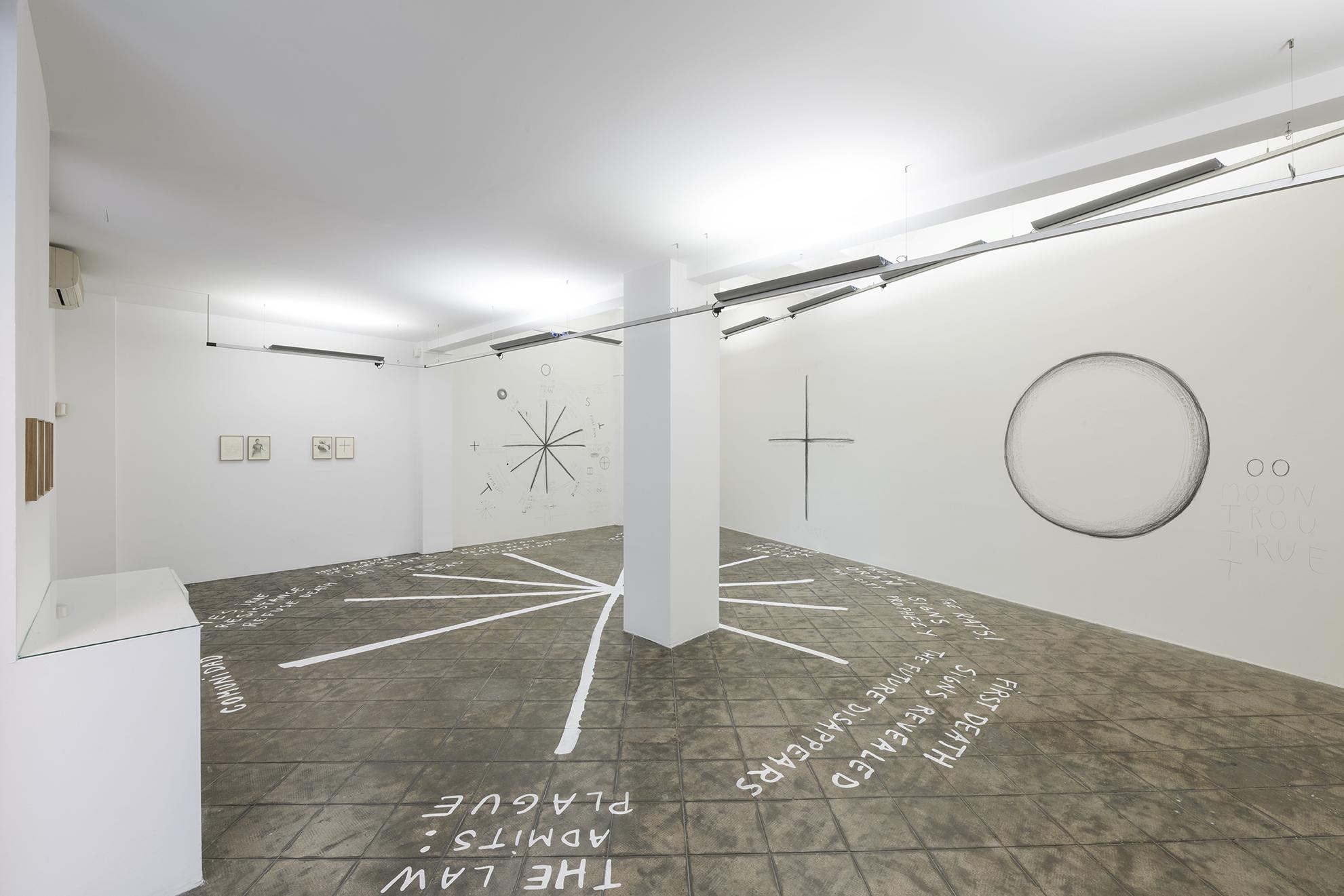 Installation view: La Peste, ProjecteSD | La Peste (The Plague) | ProjecteSD