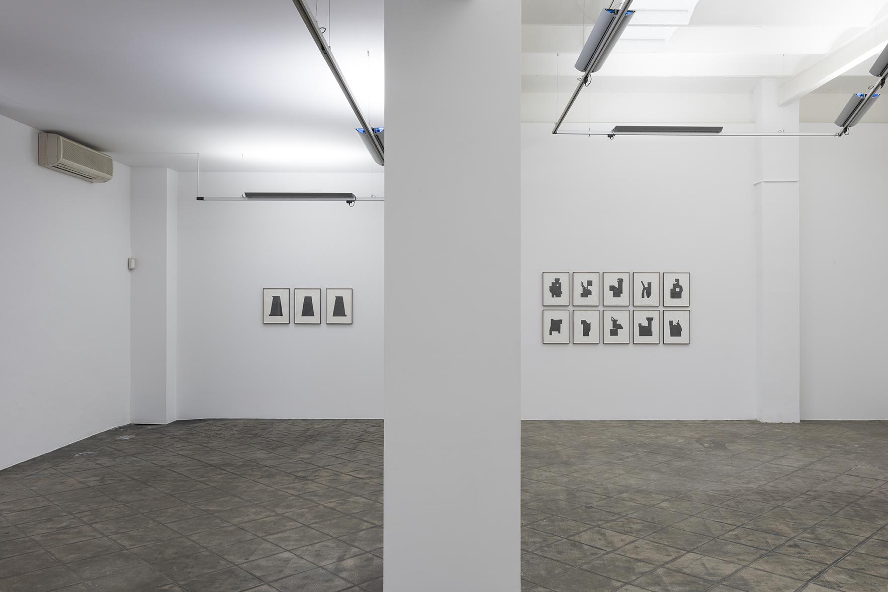 Installation view: La Vida Abstracta de Billy Murcia, ProjecteSD | La Vida Abstracta de Billy Murcia | ProjecteSD