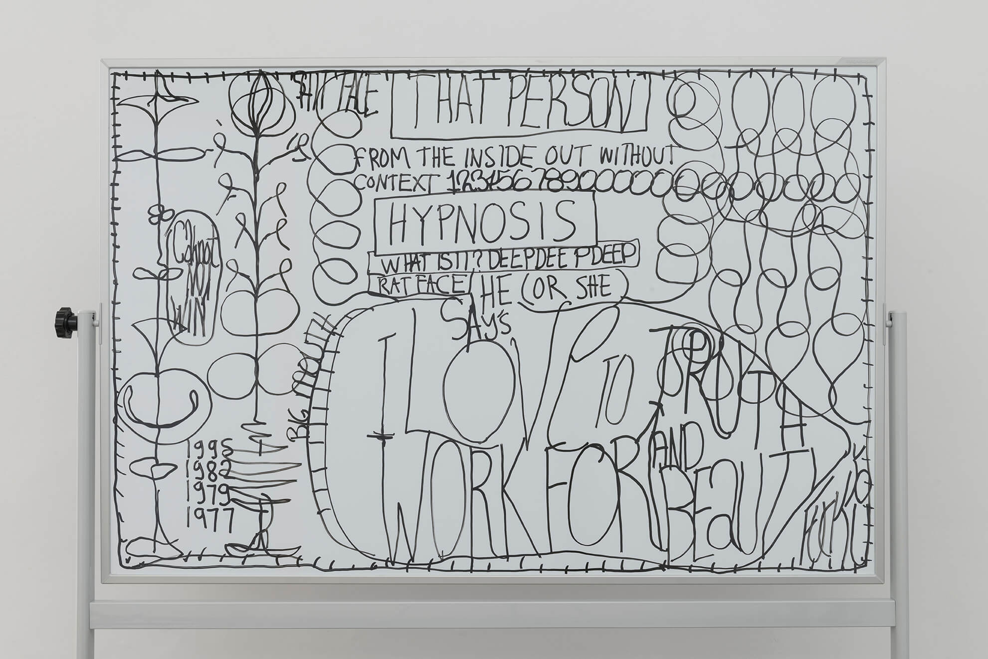 Untitled (5 Lecture Boards), 2018 (Detail) | Representing The Work | ProjecteSD