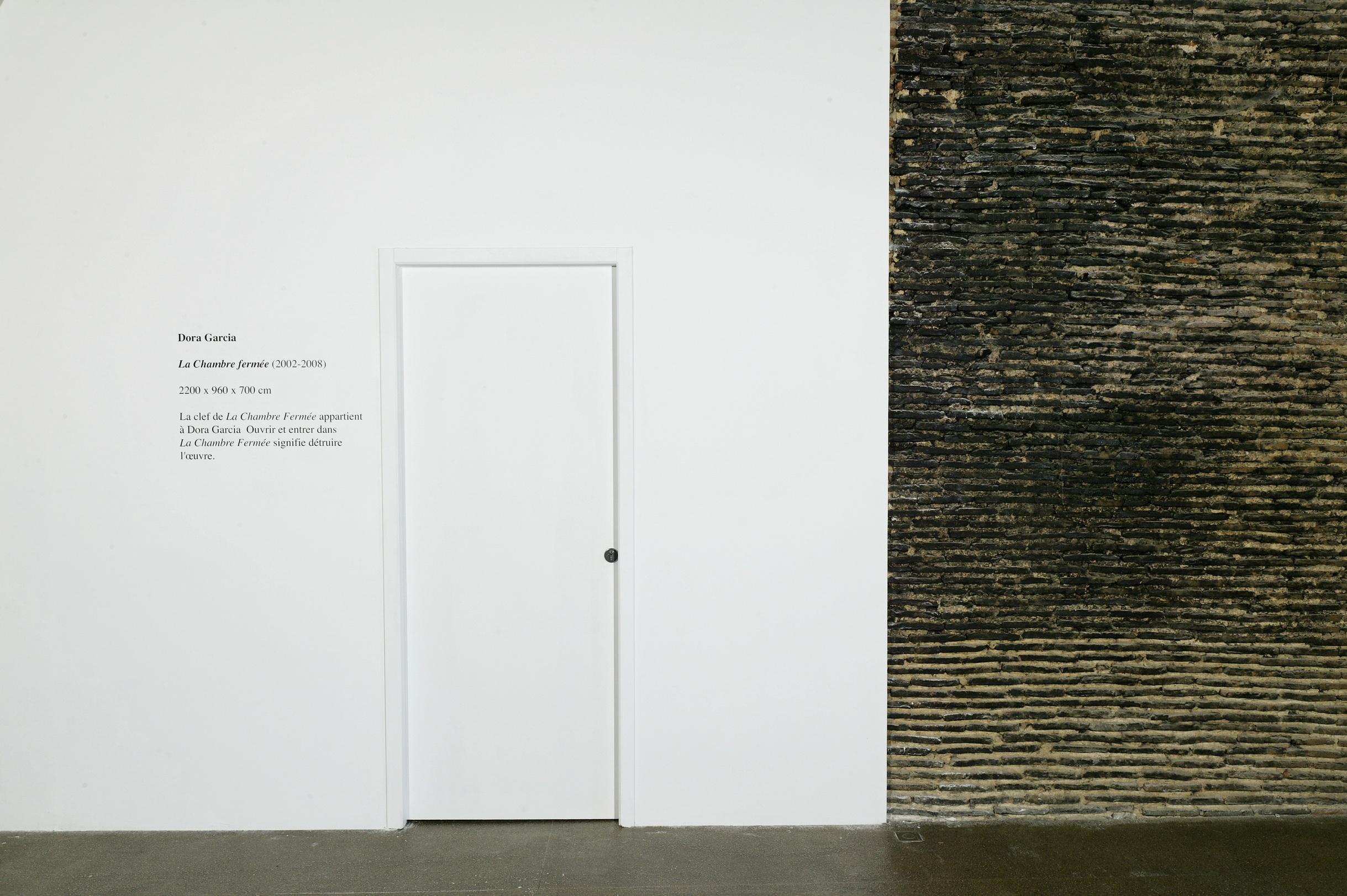 La habitación cerrada, 2002      ProjecteSD