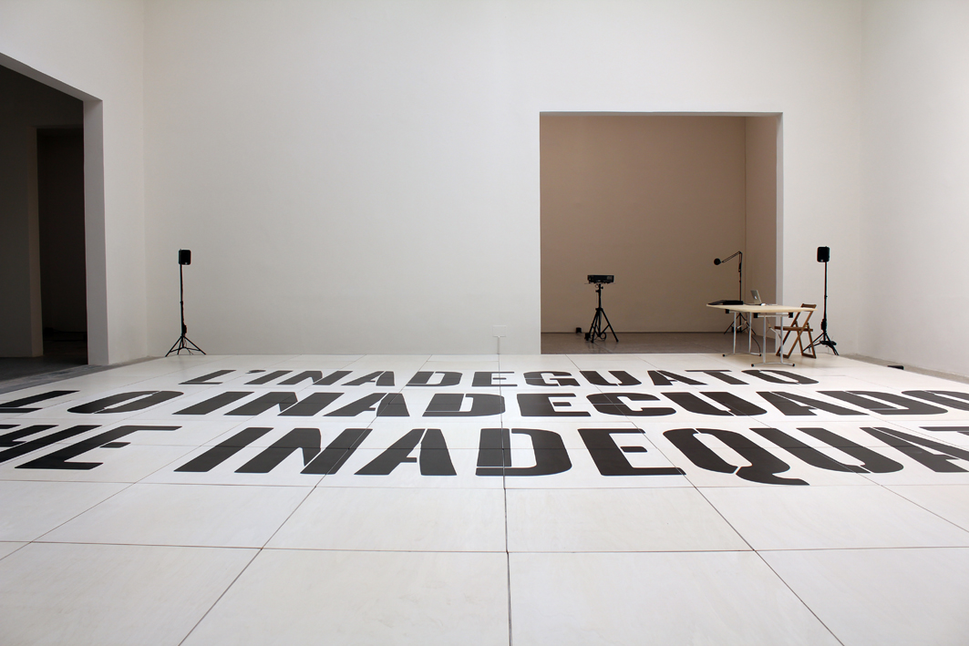 The Inadequate, 2011      ProjecteSD