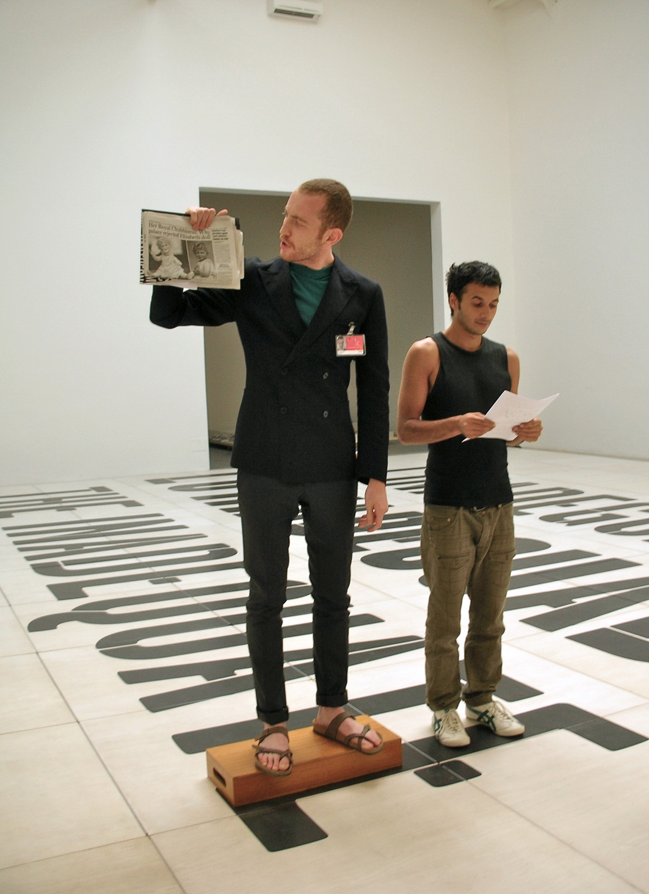 The artist without works: A Guided Tour Around Nothing, 2008-2011      ProjecteSD