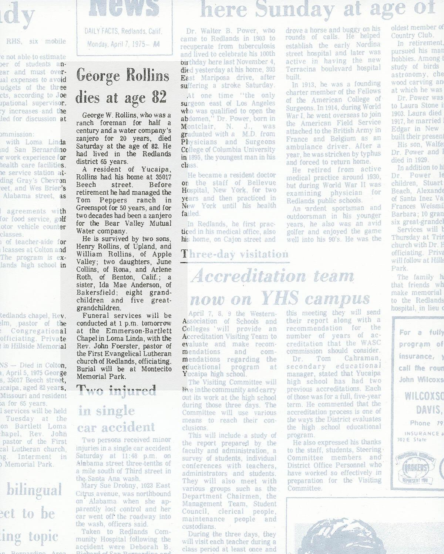George W. Rollins, 2015 (detail) |  | ProjecteSD