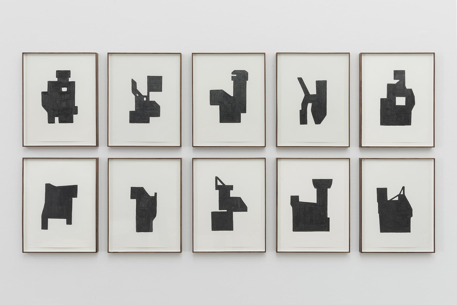 S/T (Arquitecturas), 2011 – 2012 | La Vida Abstracta de Billy Murcia | ProjecteSD