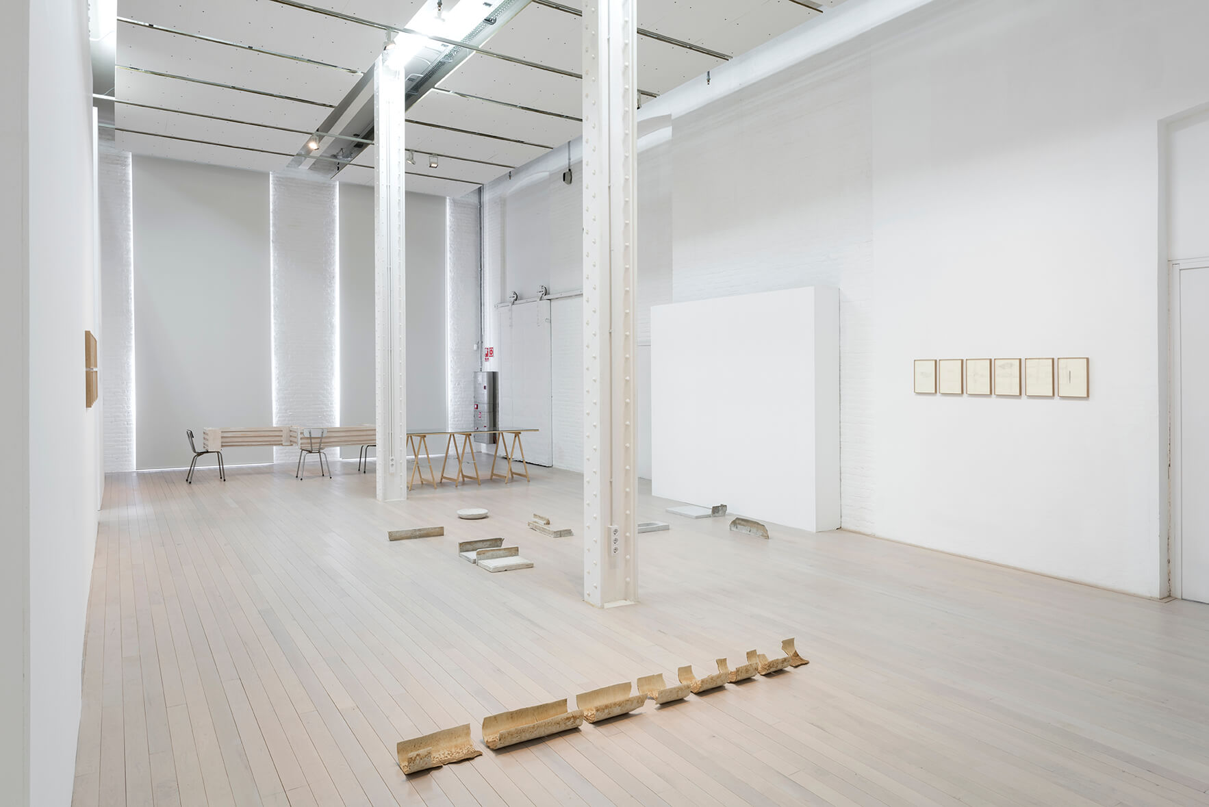 Exhibition view: Matèria Primera, Fabra i Coats, Centre d'Art Contemporani, Barcelona, 2018 |  | ProjecteSD
