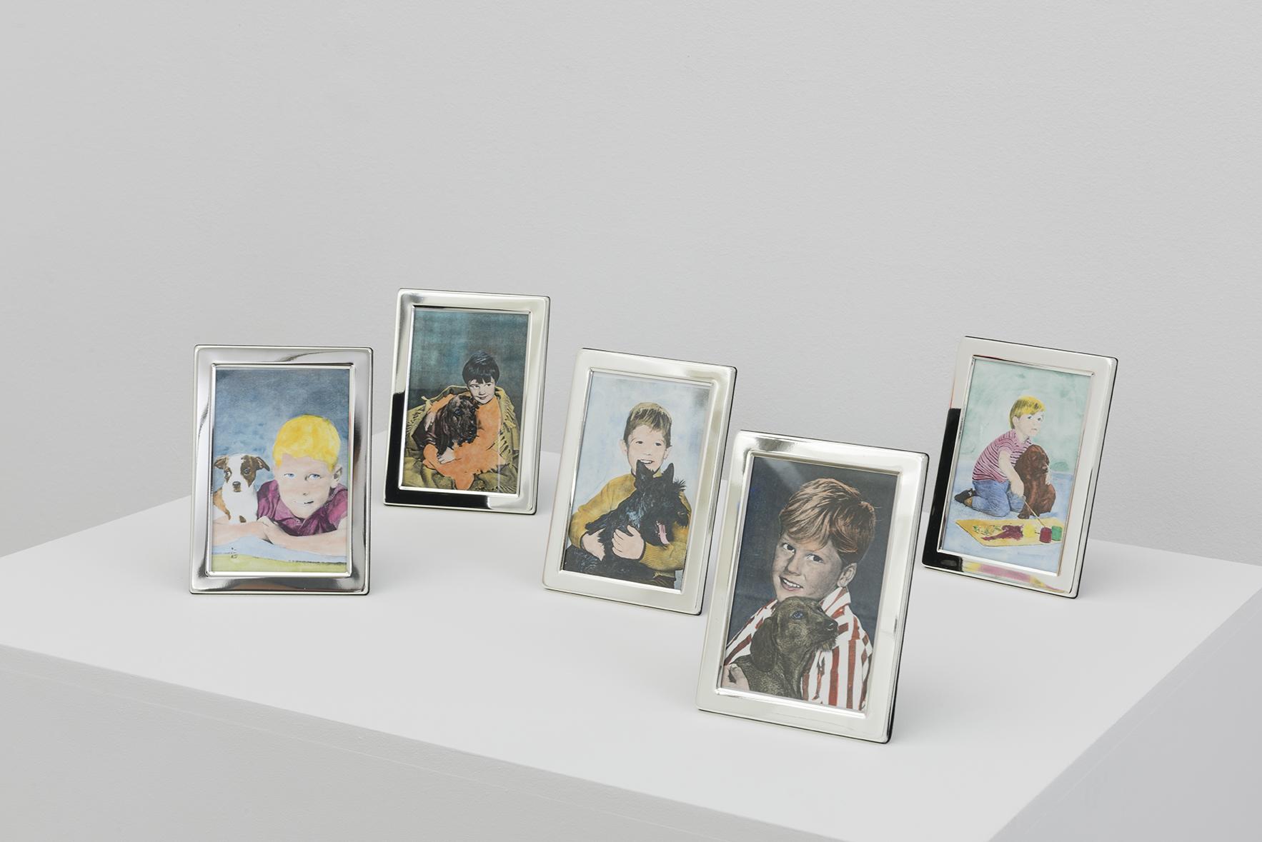 HANS-PETER FELDMANN.Children portraits, 1970's | ACCROCHAGE #1: Allen Ruppersberg et Al. | ProjecteSD