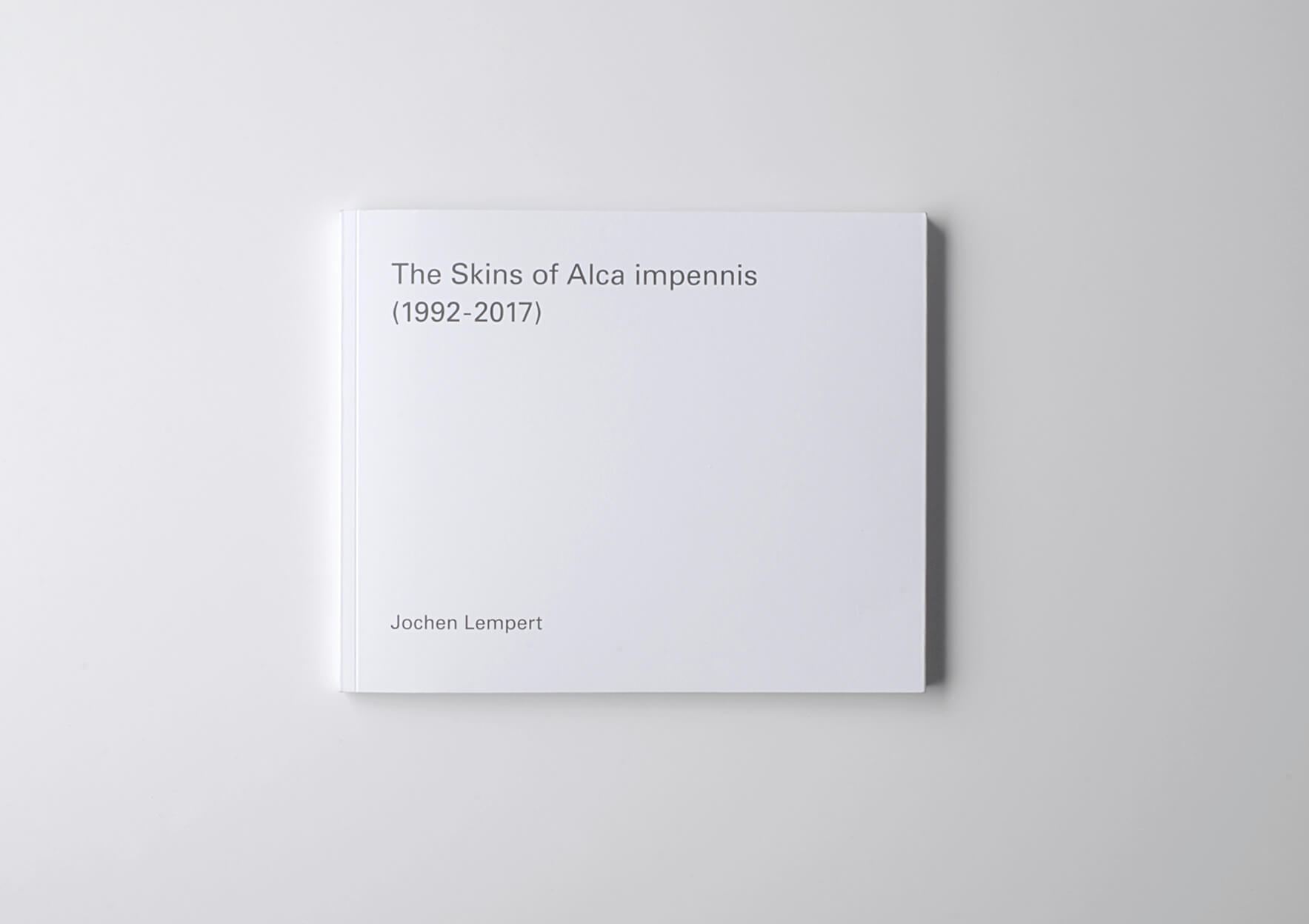| The Skins of Alca Impennis (1992-2017) | ProjecteSD