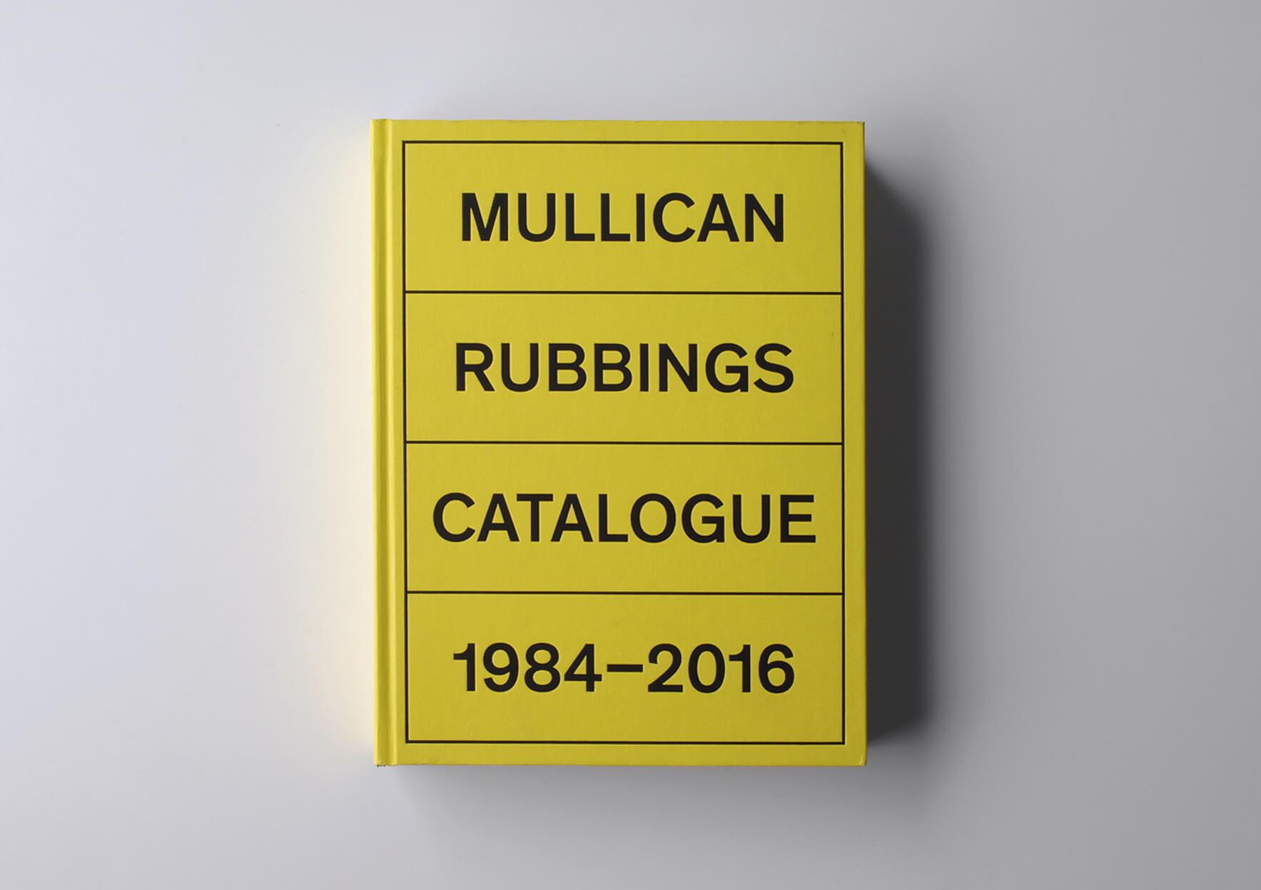 | Mullican Rubbings Catalogue 1984-2016 | ProjecteSD