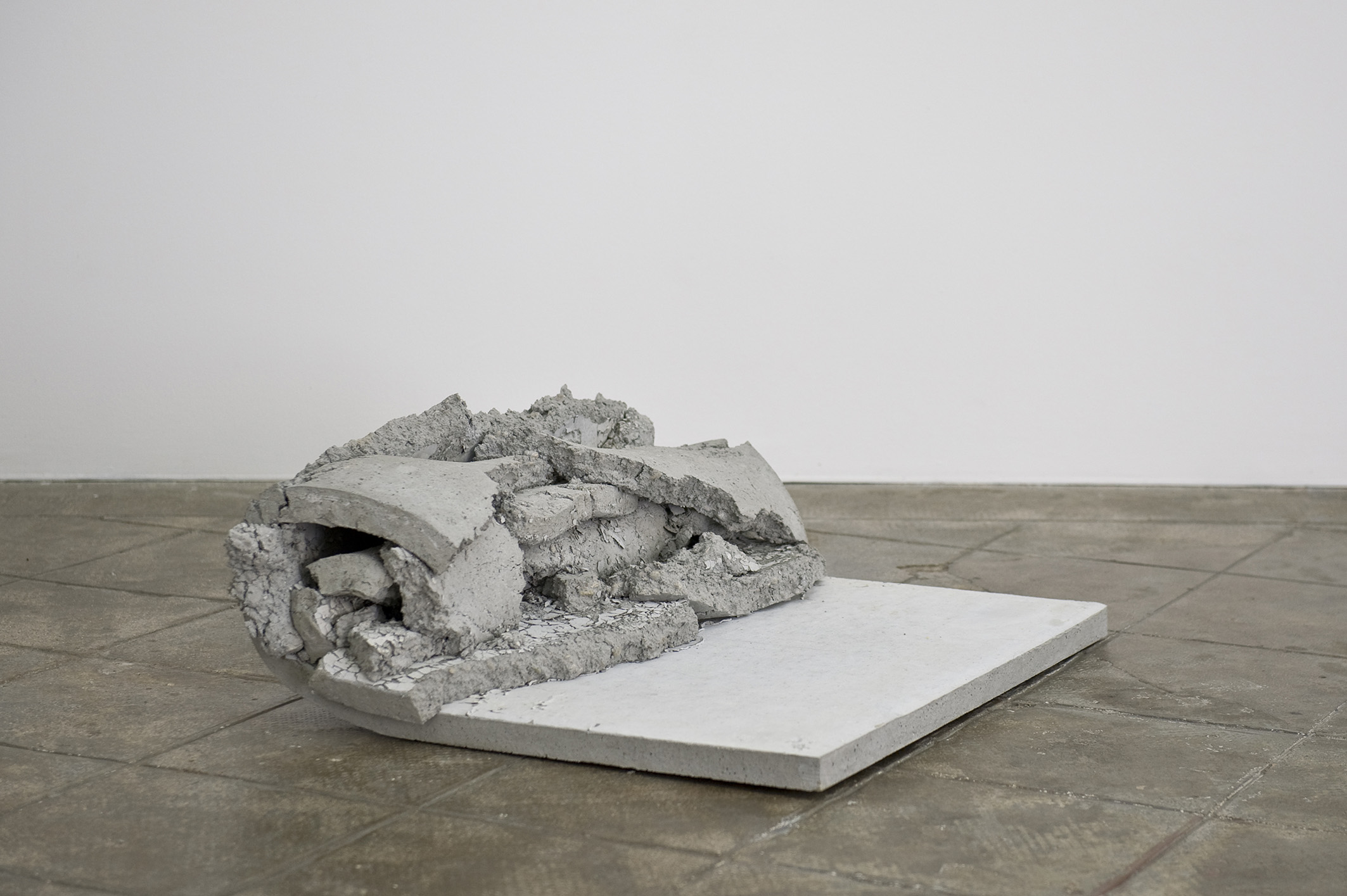 CHRISTOPH WEBER. Not yet titled, 2013   Map, Record, Picture, Sculpture   ProjecteSD