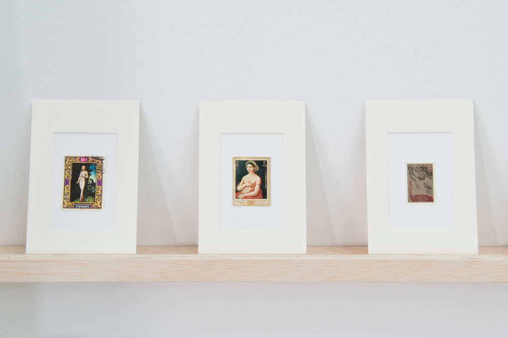 Stamps with paintings, 2005 (Detail) | Hans-Peter Feldmann | ProjecteSD