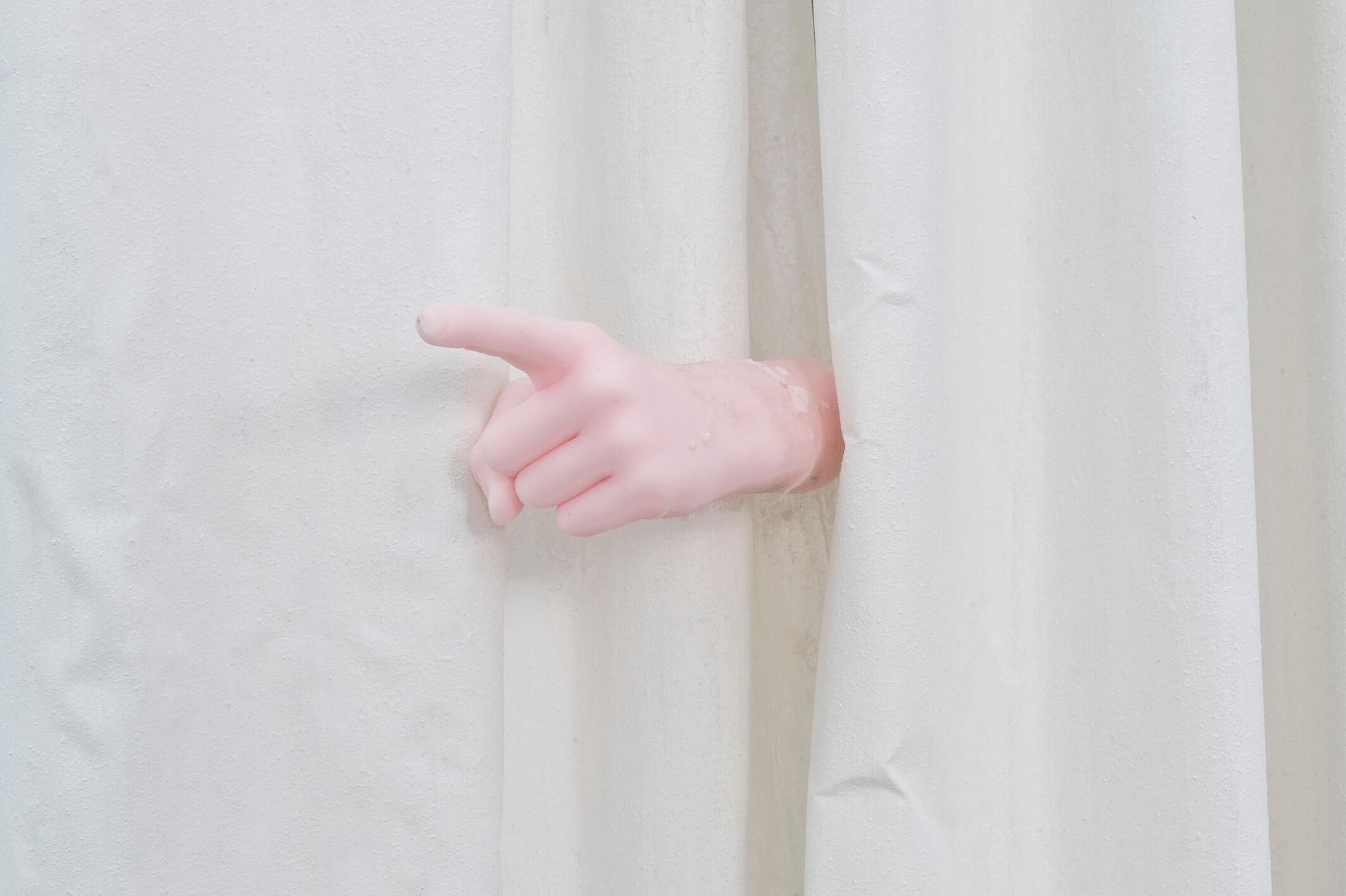 Le très grand rideau, 2014 (Detail)   The Constant Repetition of False   ProjecteSD