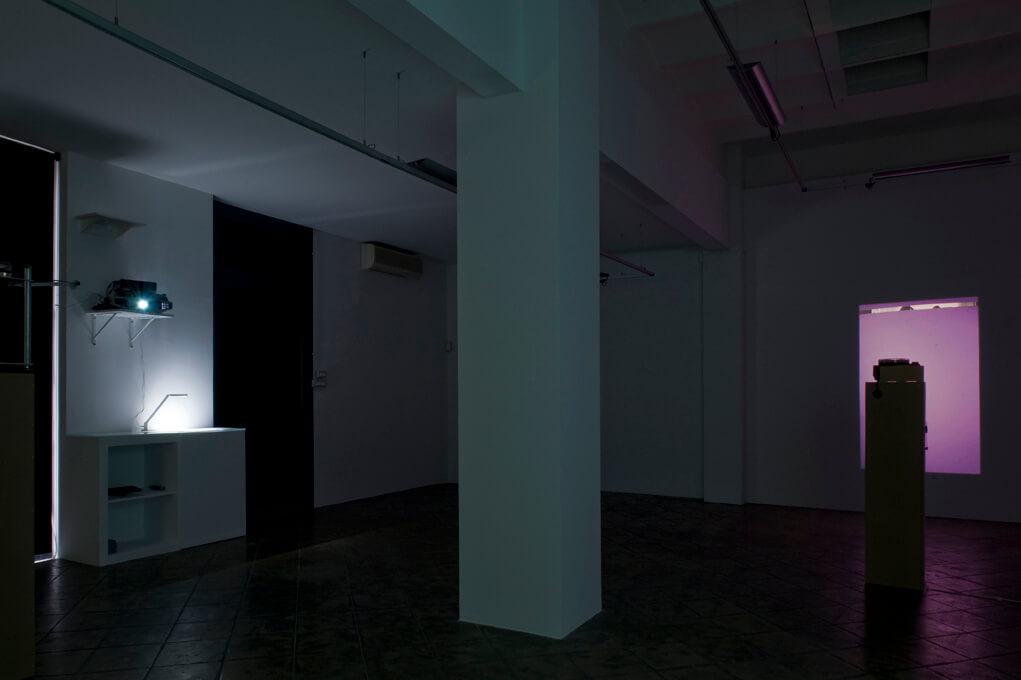 Installation view: Frames of Mind, ProjecteSD, Barcelona, 2014 | Frames of Mind | ProjecteSD