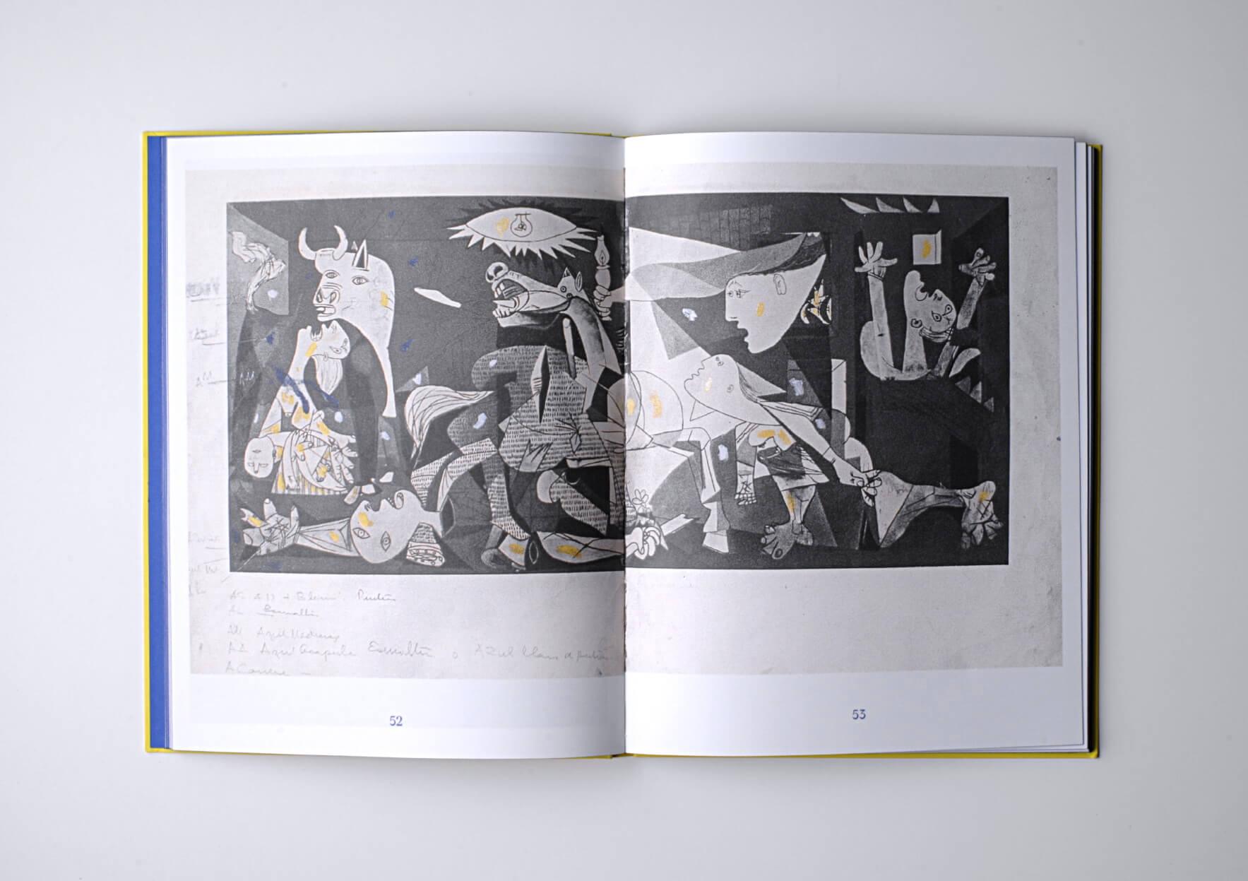 Beatriz González Diario del guernica, 2018 30 x 23 cm, 128 p. 500 ex. Ed. Zulu Press | Mother | ProjecteSD