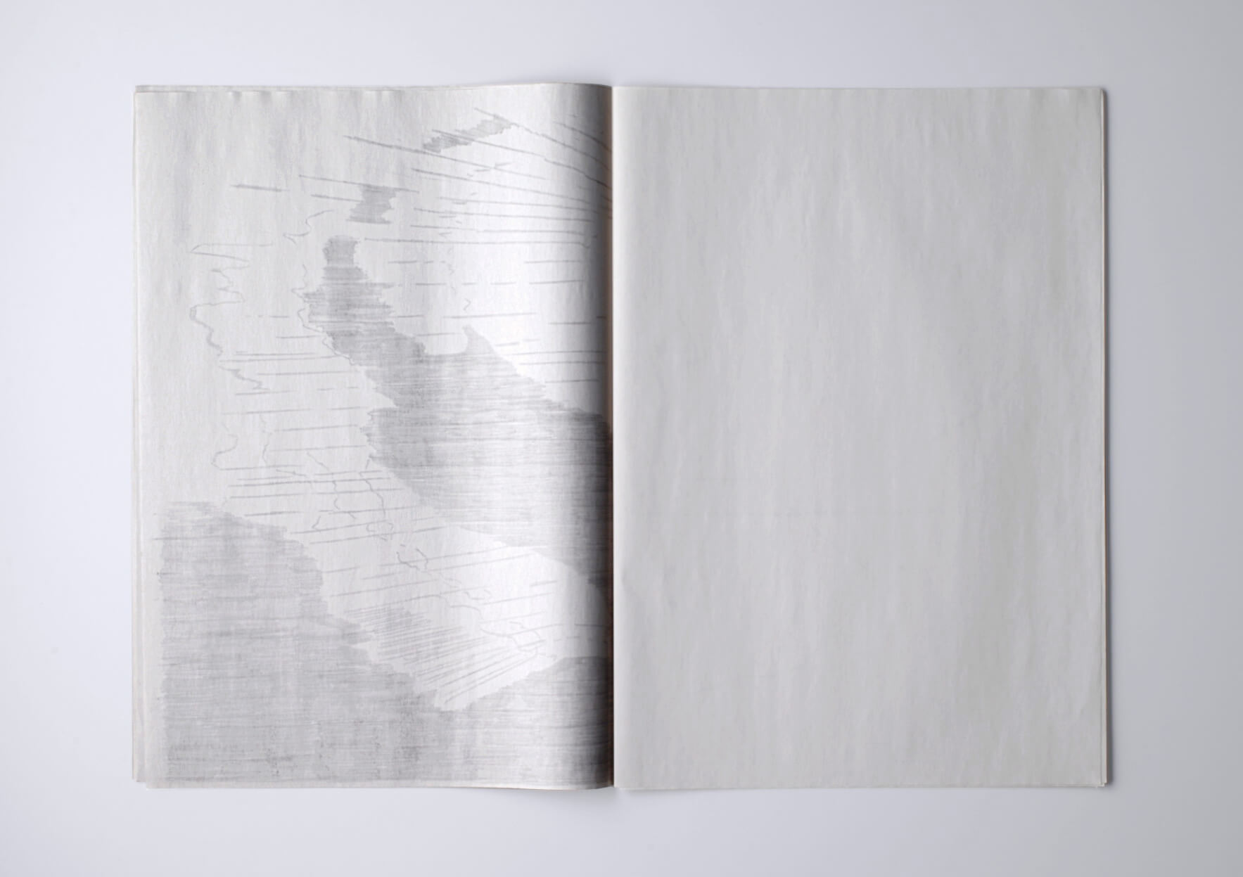 Patricia Dauder Insulana, 2019 Graphit on newspaper paper 30, 5 x 43 cm, 24 p. Ed. 5 + 2AP | Mother | ProjecteSD