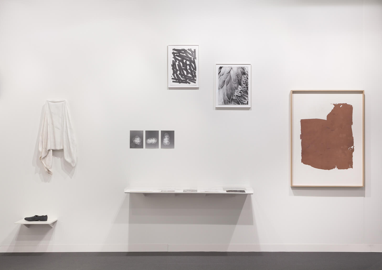 Installation view: ProjecteSD, Booth L4 | ART BASEL 2015 | ProjecteSD