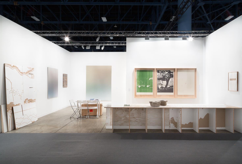 Installation view: ProjecteSD, Booth C24 | ART BASEL MIAMI 2015 | ProjecteSD