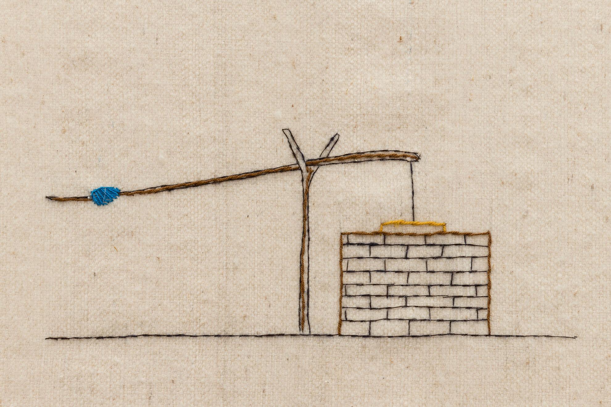O poço, 2019. (Detail) | Untitled | ProjecteSD