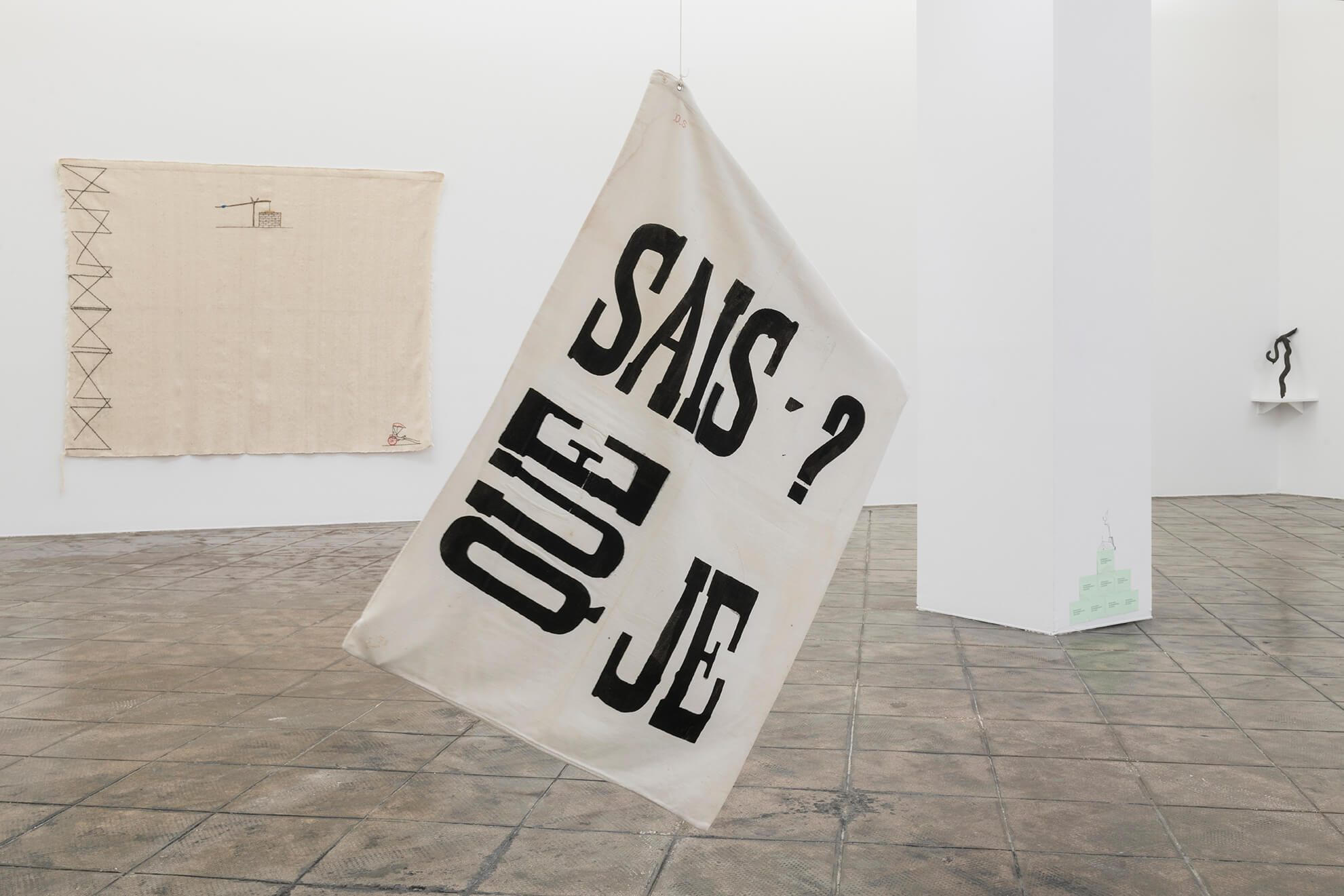 Installation view: Ana Jotta, ProjecteSD | Untitled | ProjecteSD