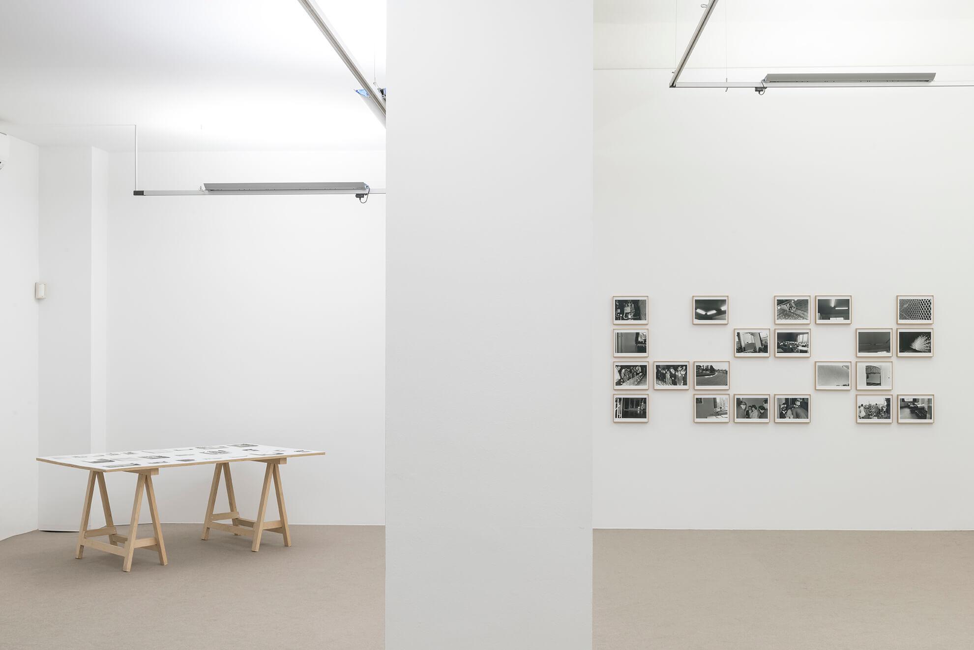 Installation view: Accrochage #5: Set petites històries, ProjecteSD | Lara Fluxà: Delu / Accrochage #5: Set Petites Històries | ProjecteSD