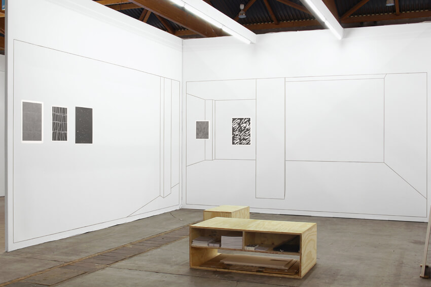 Installation view: ProjecteSD, Booth 3C24 | ART BRUSSELS 2014 | ProjecteSD
